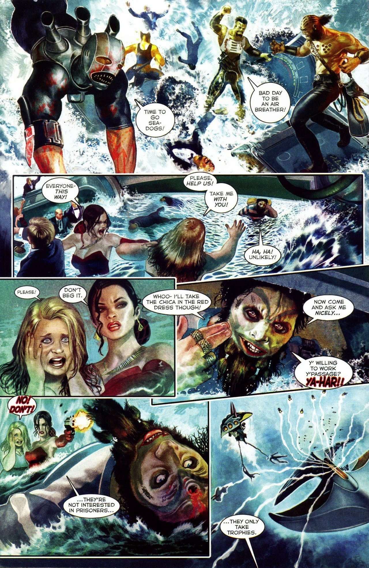 Read online Shark-Man comic -  Issue #3 - 5