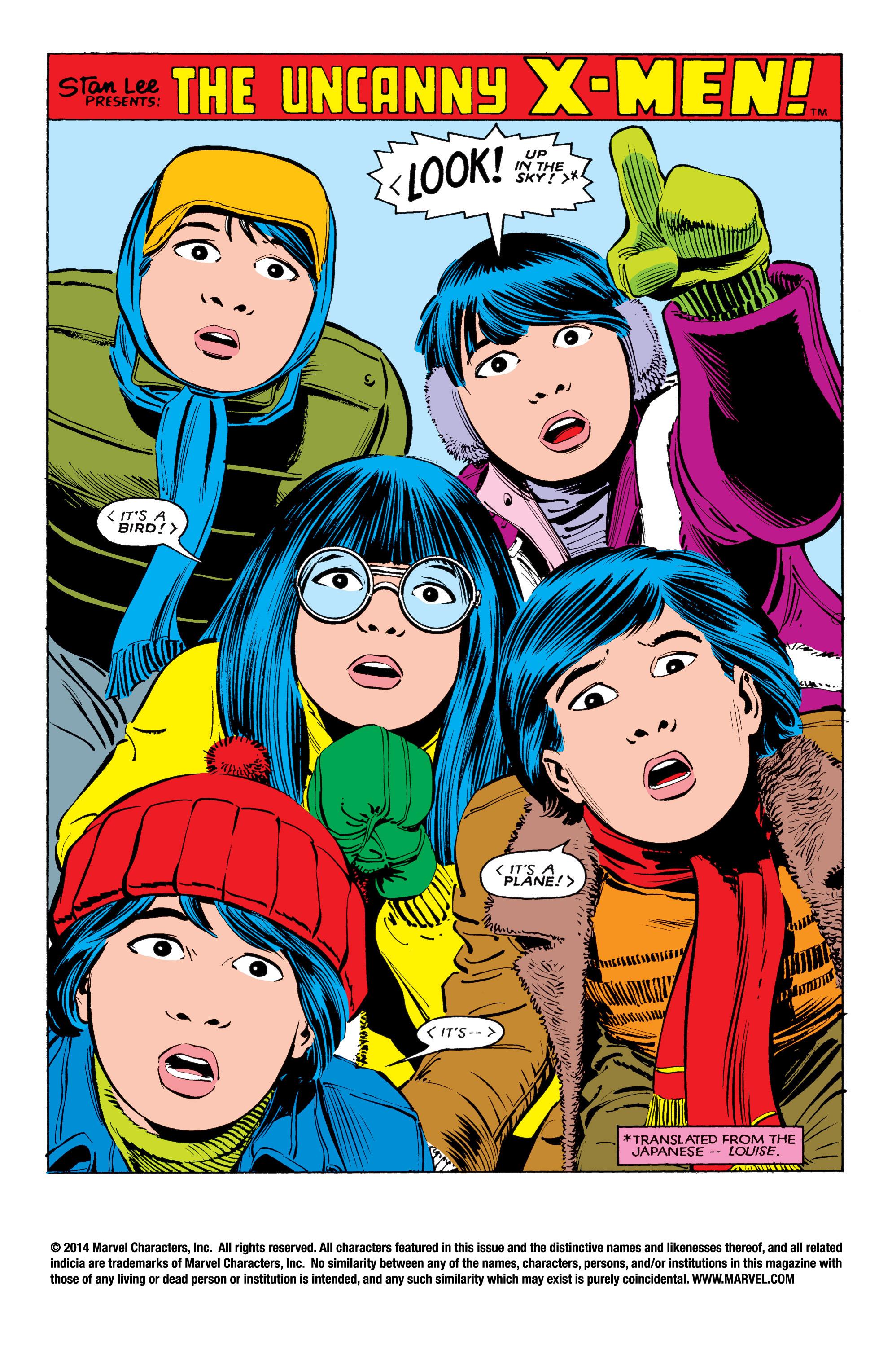 Uncanny X-Men (1963) 181 Page 2