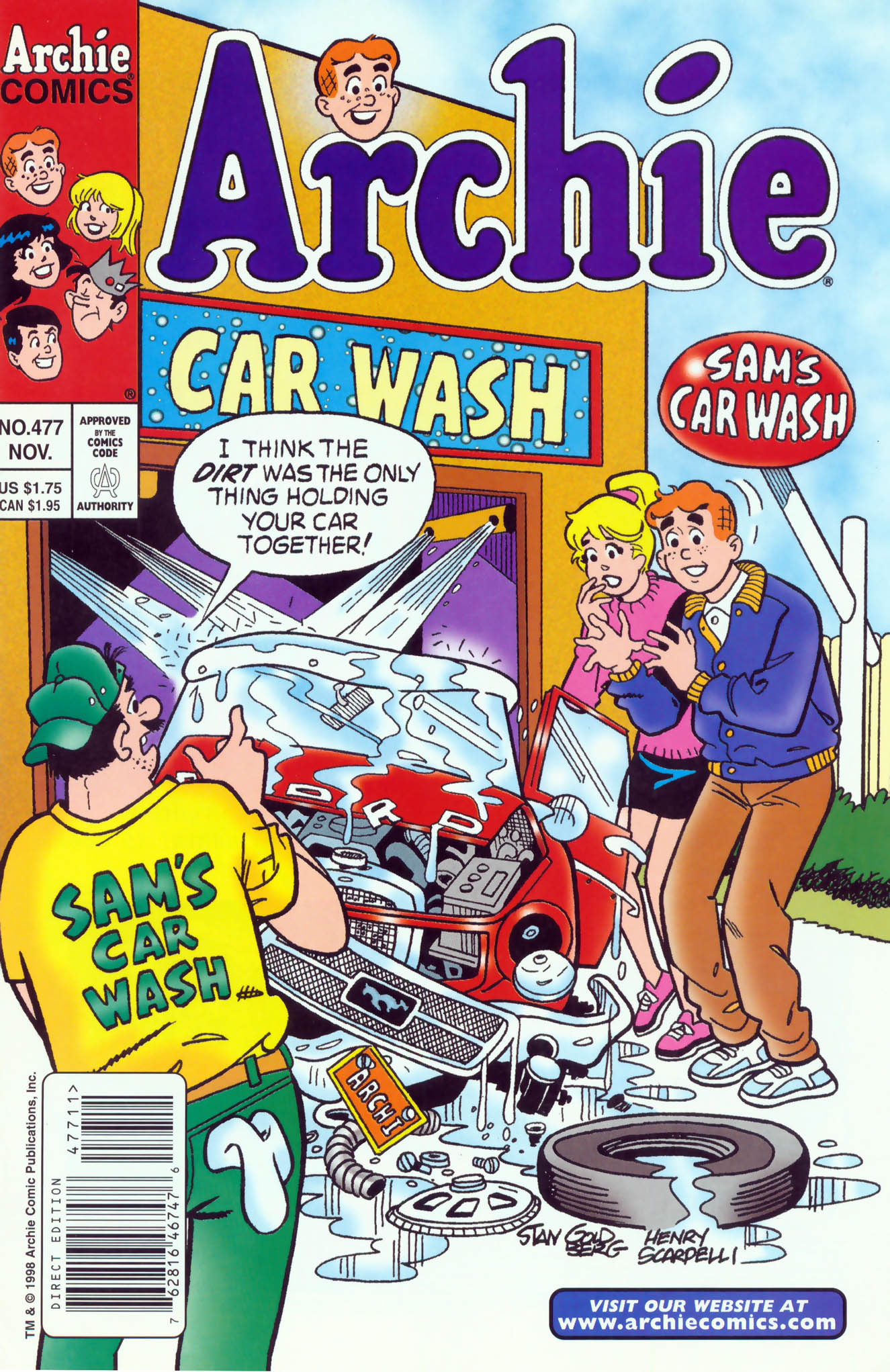 Read online Archie (1960) comic -  Issue #477 - 1