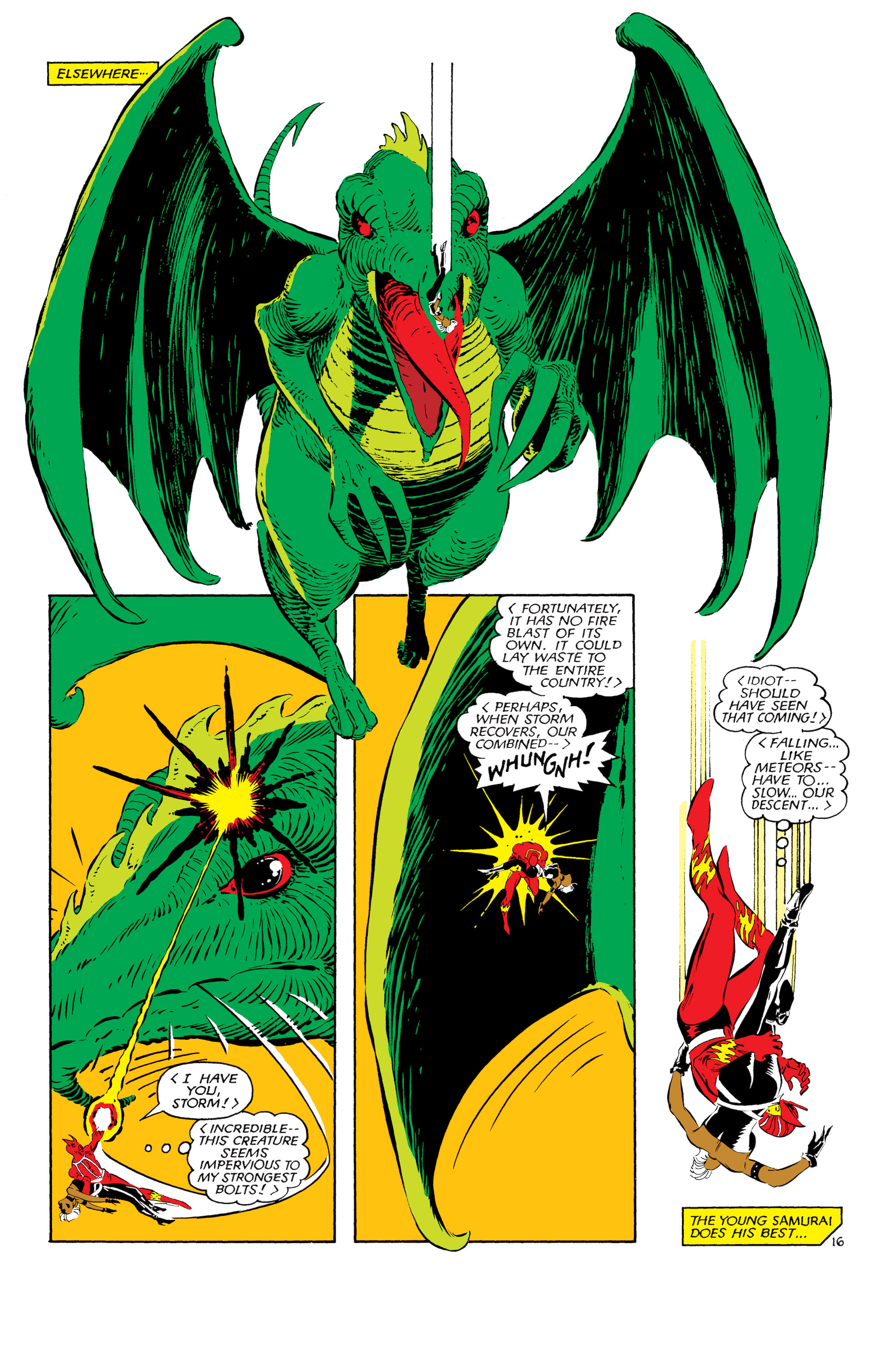 Read online Uncanny X-Men (1963) comic -  Issue #181 - 16