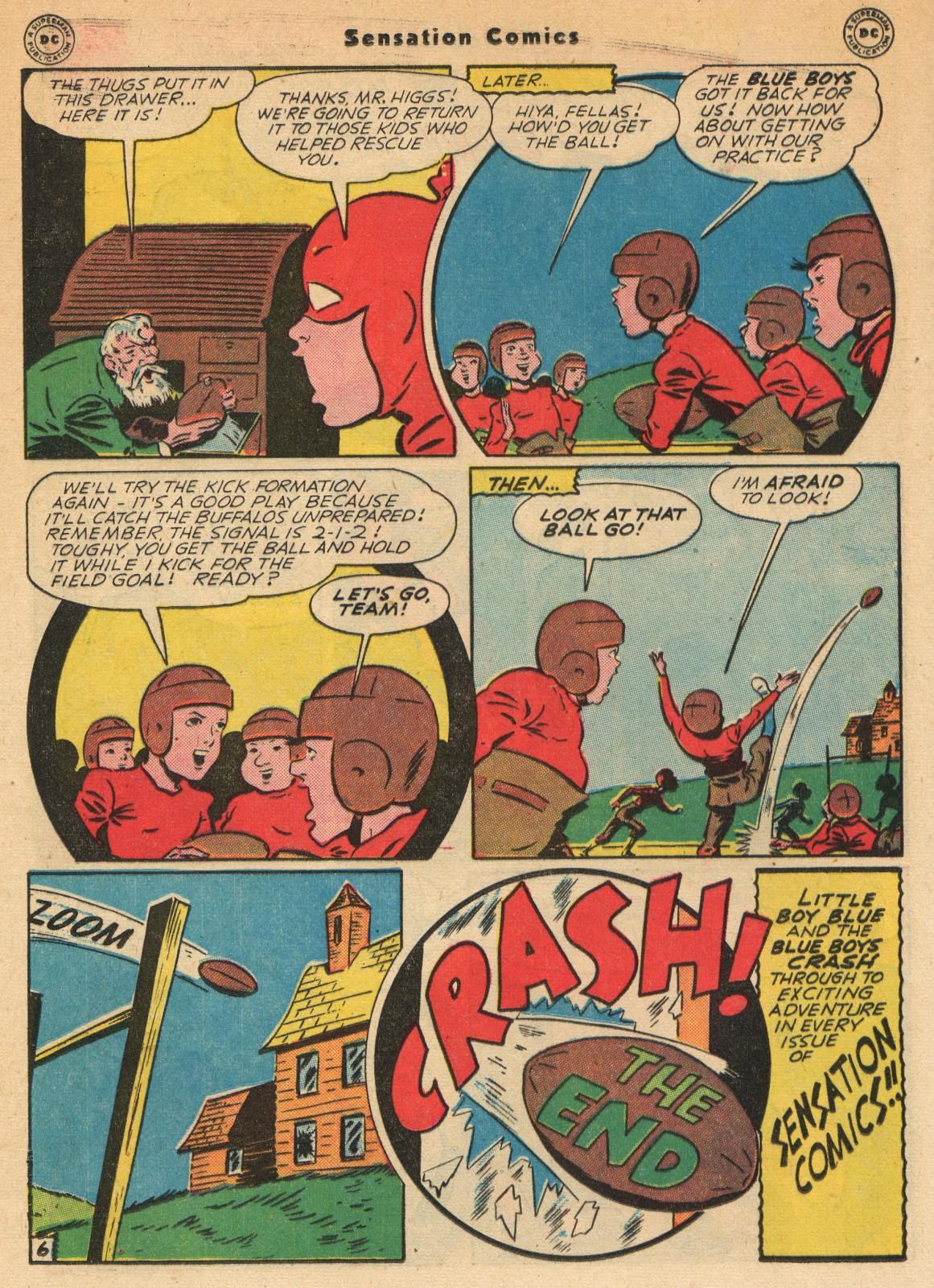 Read online Sensation (Mystery) Comics comic -  Issue #51 - 22
