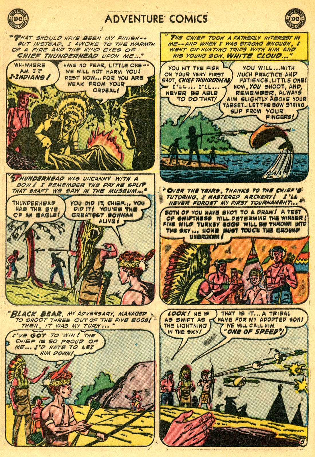 Read online Adventure Comics (1938) comic -  Issue #209 - 29