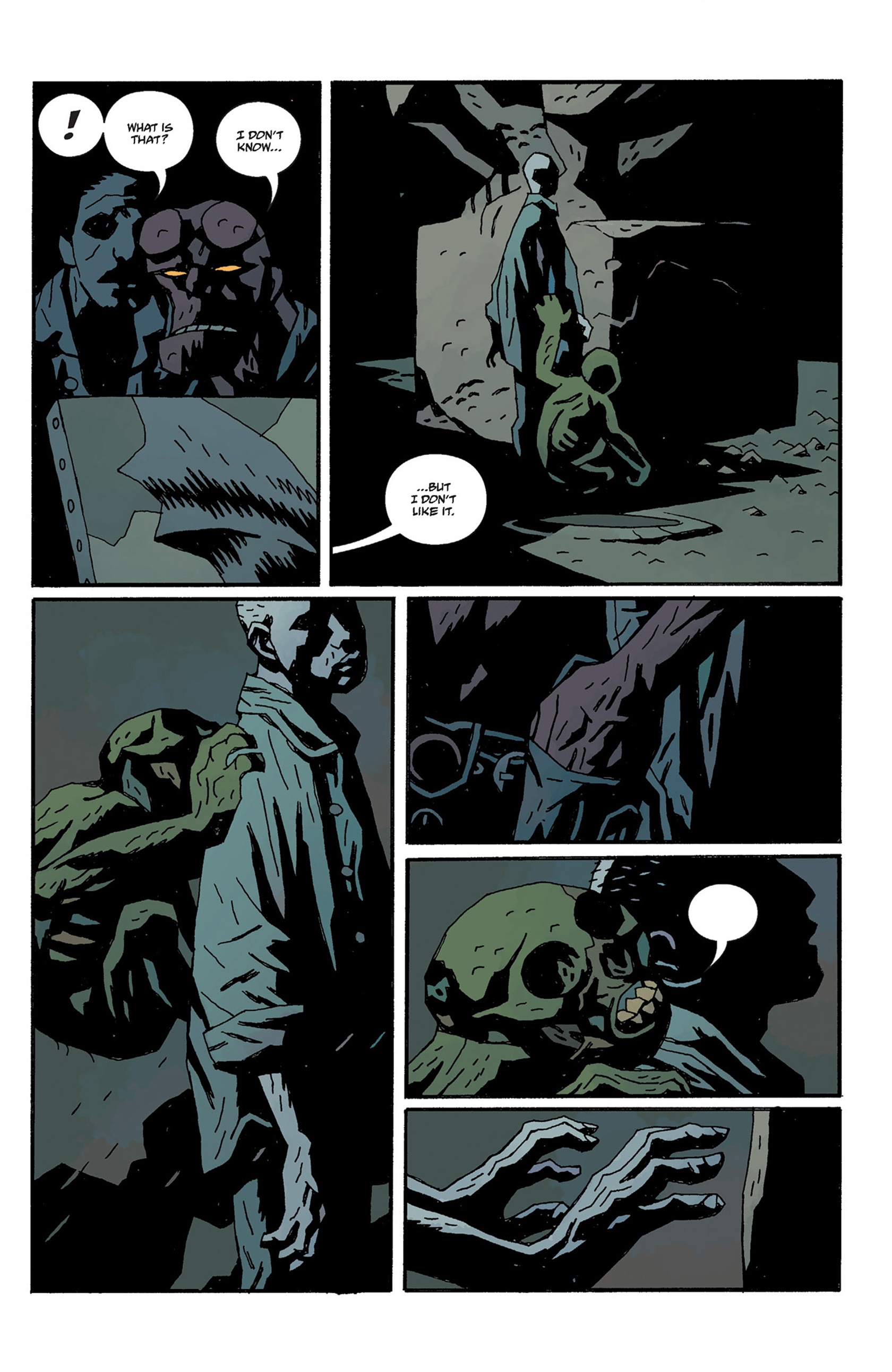 Read online Hellboy: The Crooked Man and Others comic -  Issue # TPB - 123