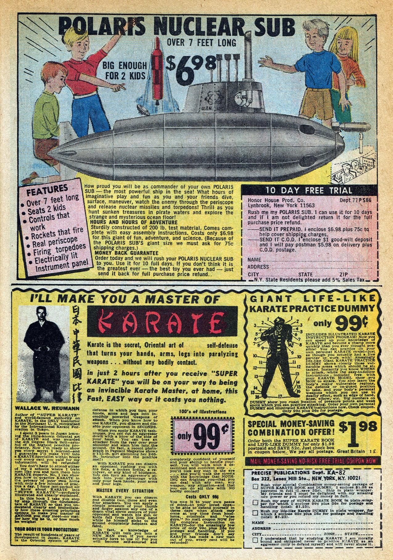 Read online Amazing Adventures (1970) comic -  Issue #1 - 31