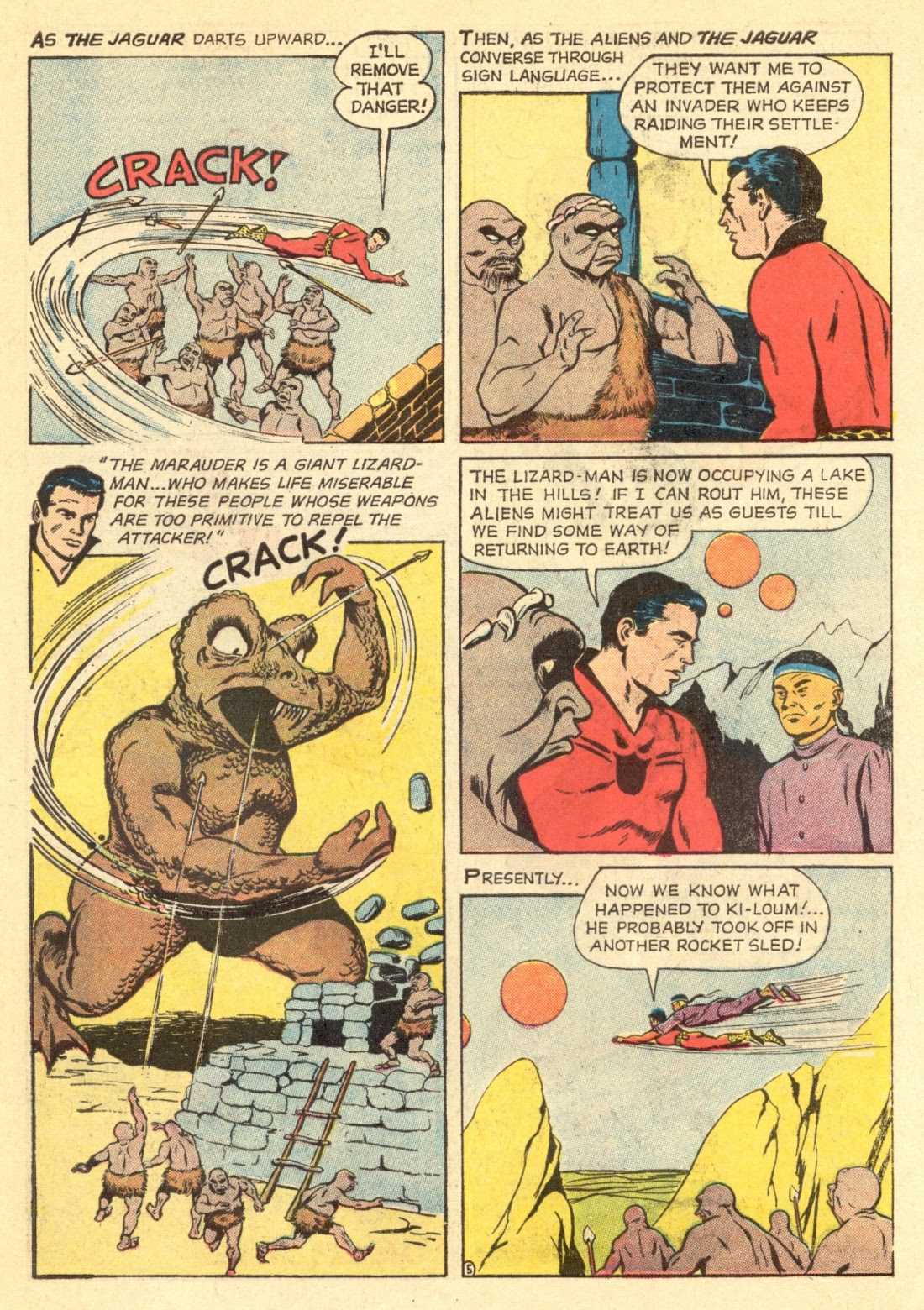 Adventures of the Jaguar issue 4 - Page 7
