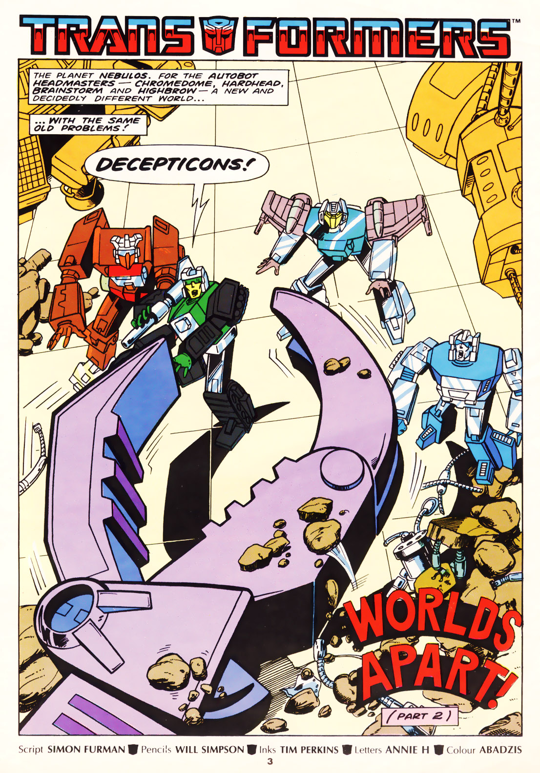 The Transformers (UK) 257 Page 2