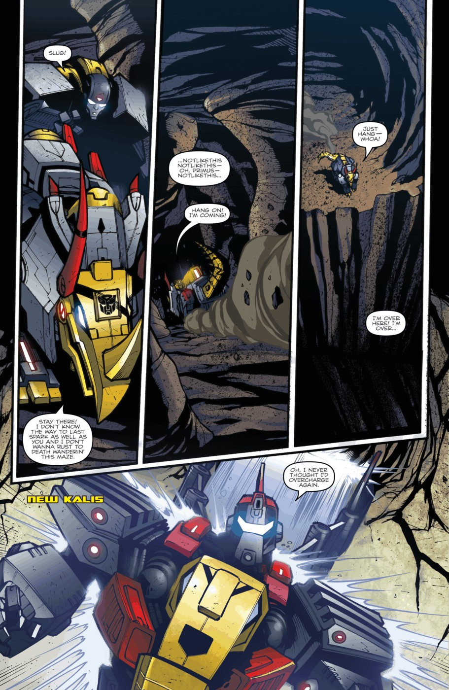 Read online Transformers Prime: Beast Hunters comic -  Issue #5 - 16