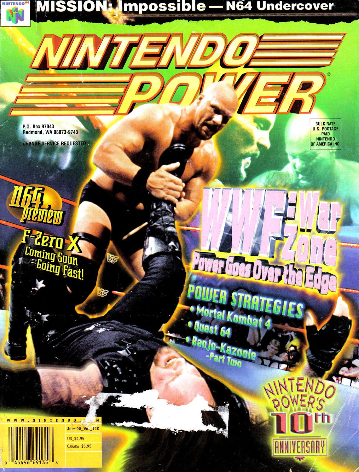 Nintendo Power 110 Page 1