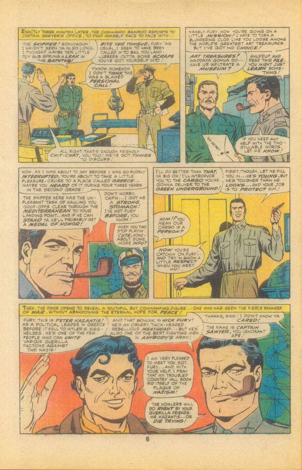 Read online Sgt. Fury comic -  Issue #135 - 8