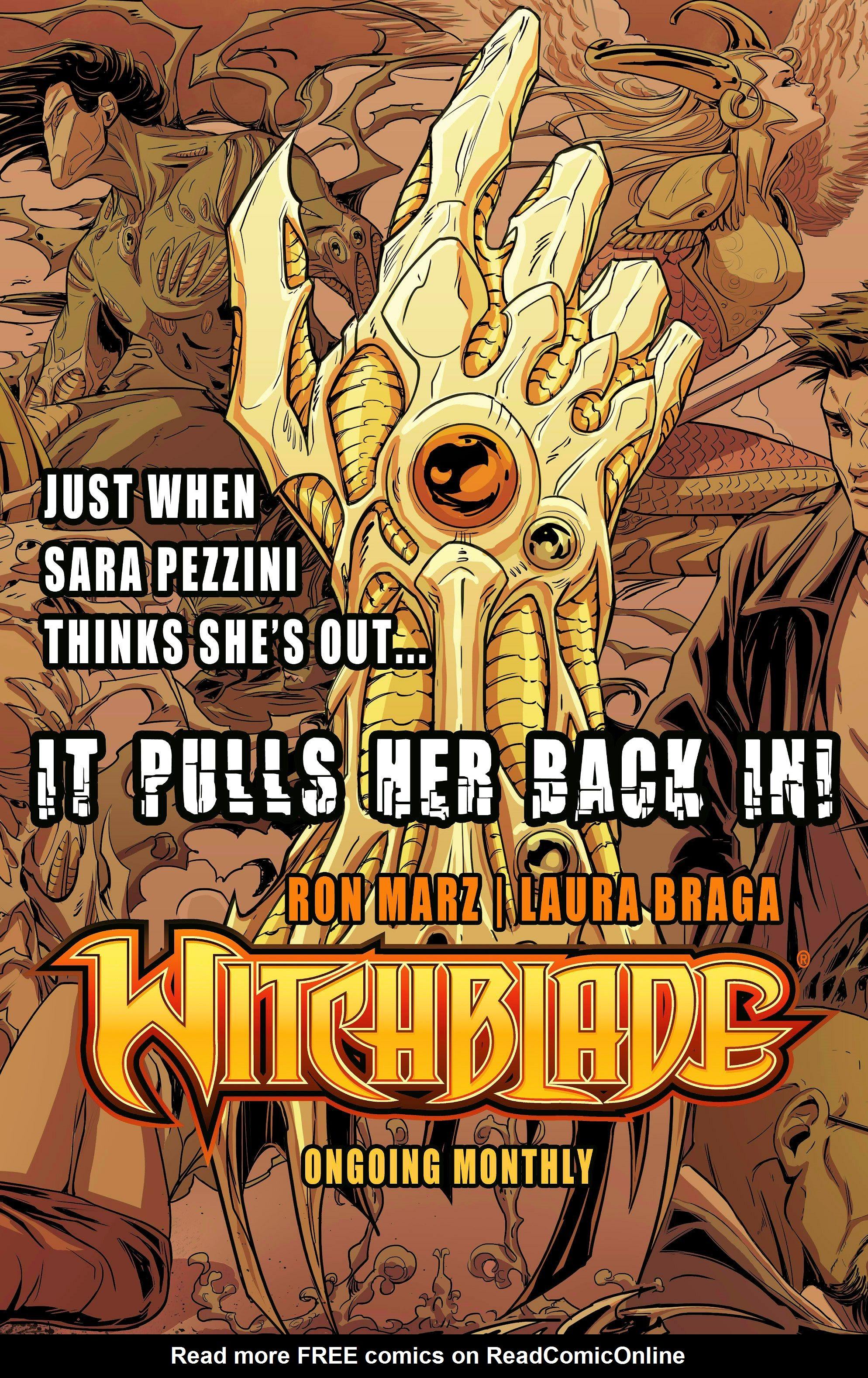Read online Aphrodite IX (2013) comic -  Issue #10 - 24