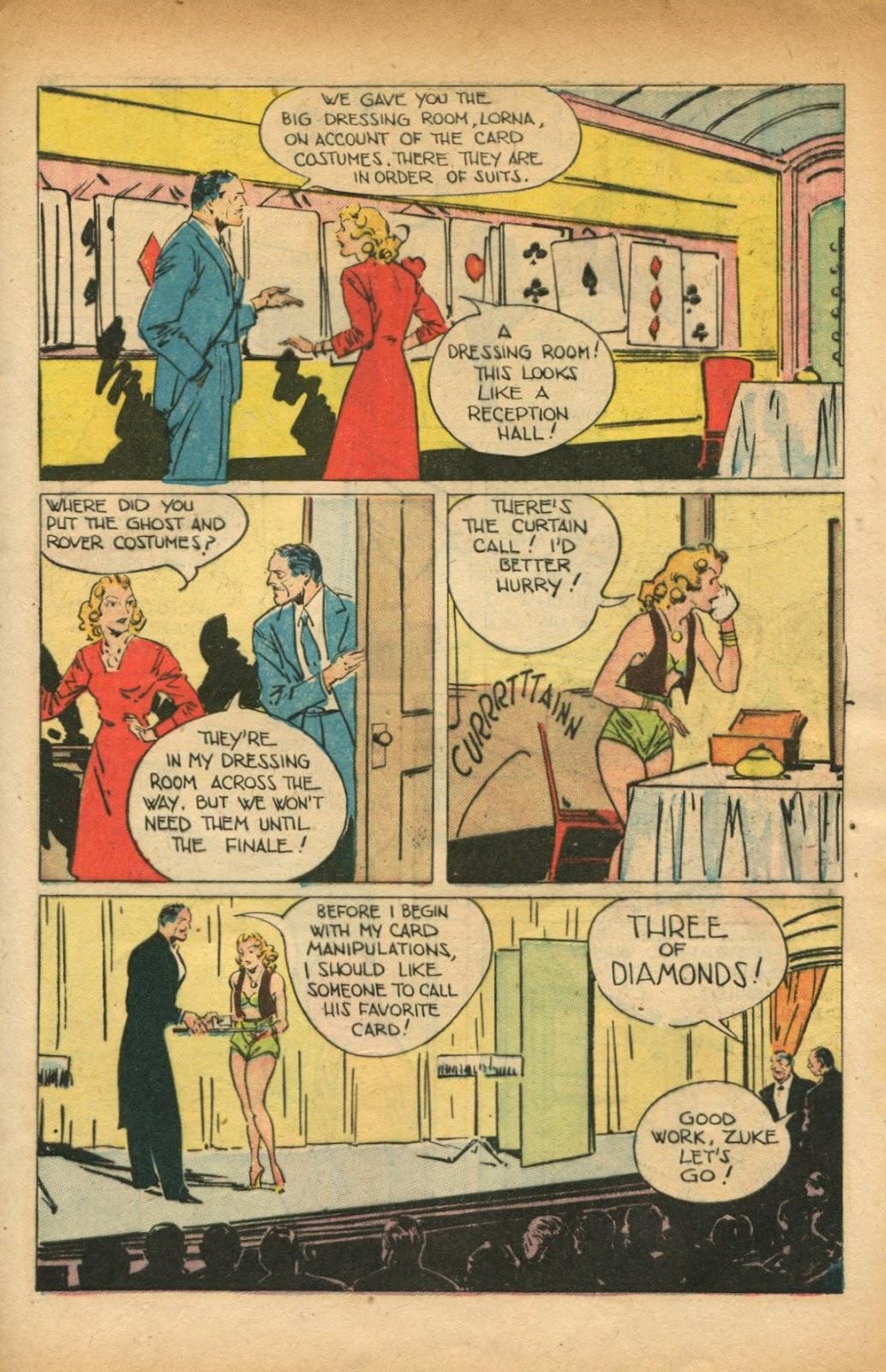 Read online Super-Magician Comics comic -  Issue #51 - 11
