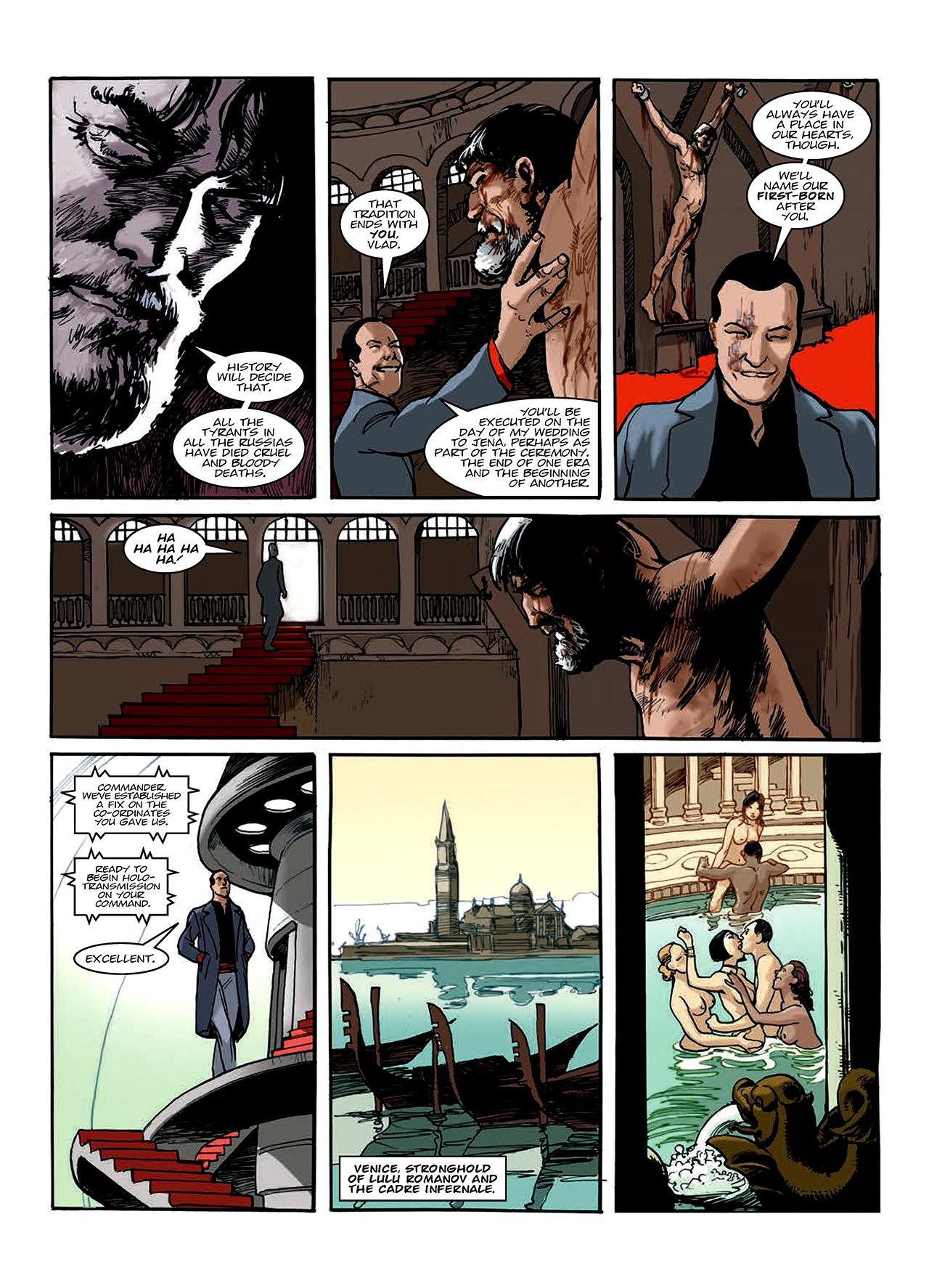 Read online Nikolai Dante comic -  Issue # TPB 10 - 145