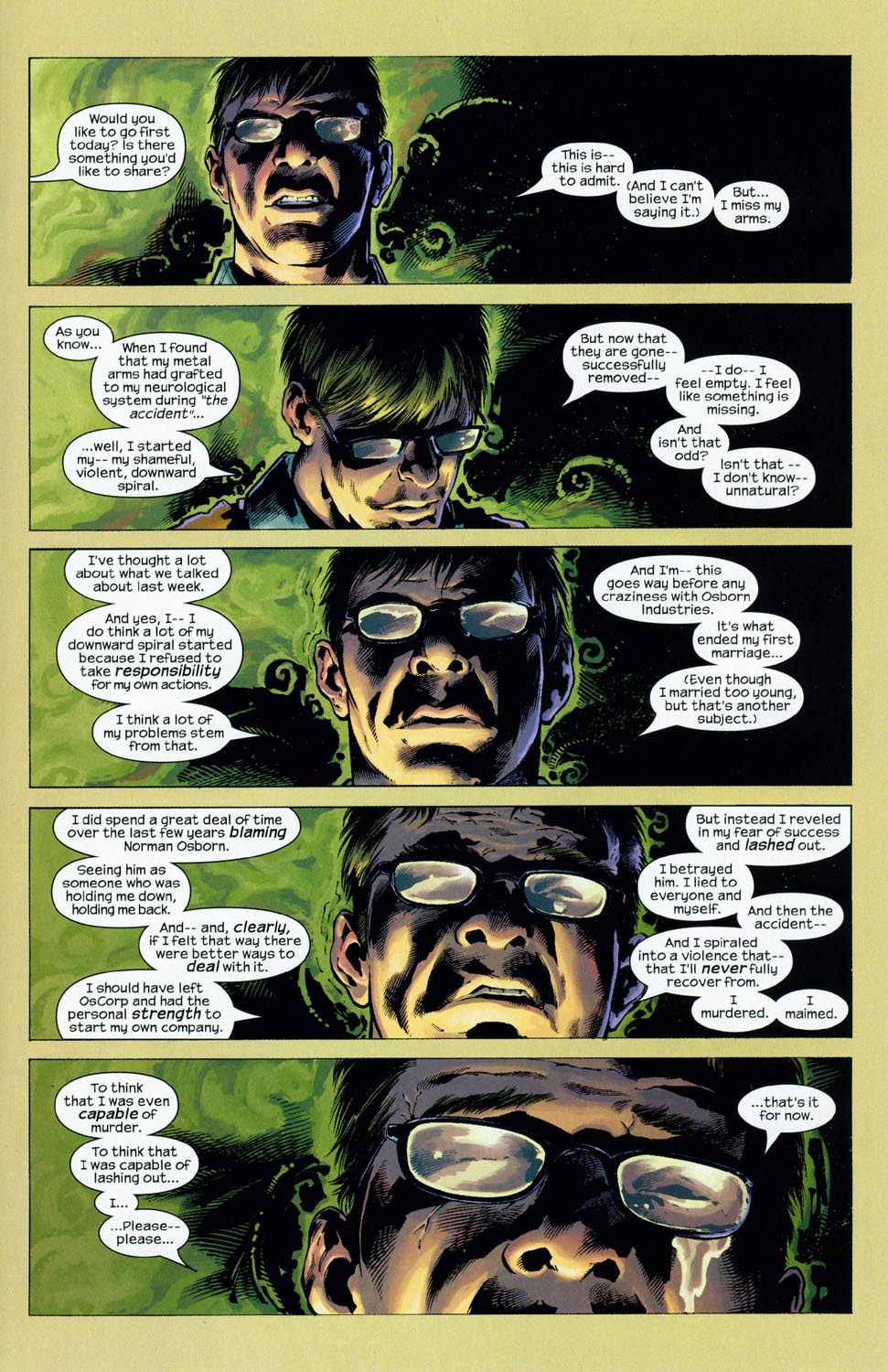 Read online Ultimate Six comic -  Issue #1 - 9
