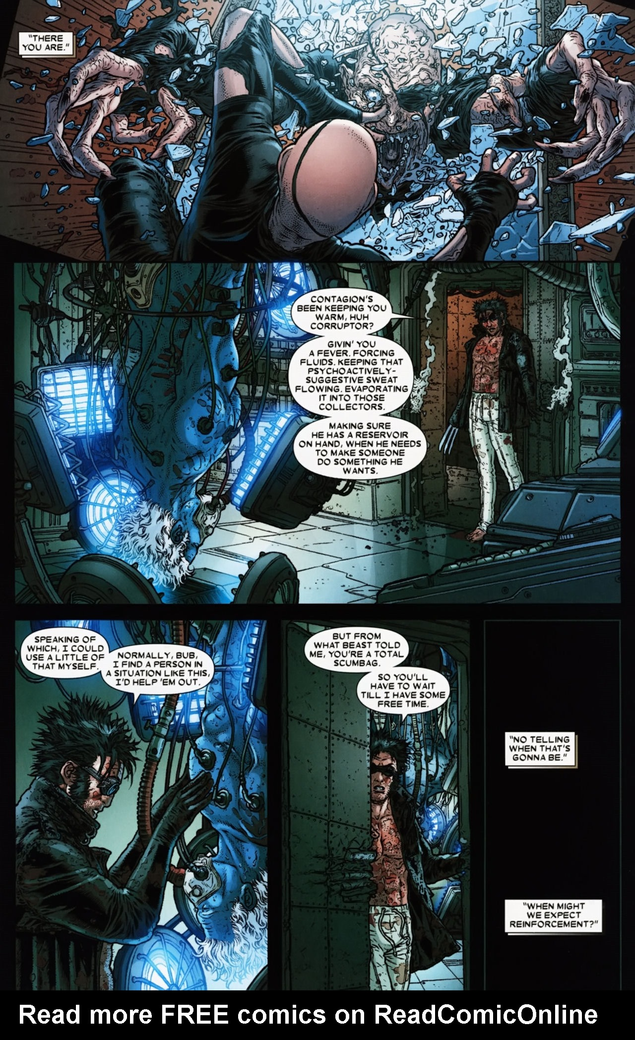 Read online Wolverine: The Best There Is comic -  Issue #6 - 9