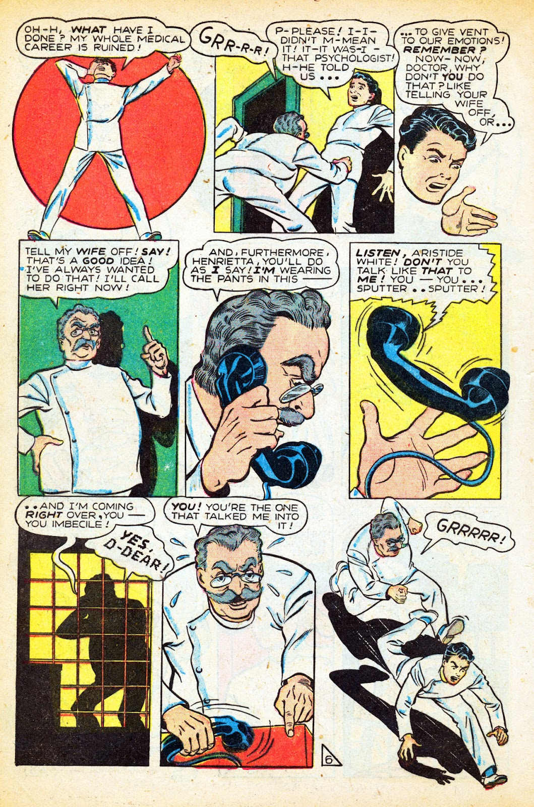 Read online Nellie The Nurse (1945) comic -  Issue #12 - 8