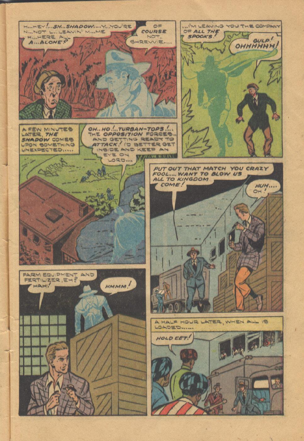 Read online Shadow Comics comic -  Issue #95 - 9