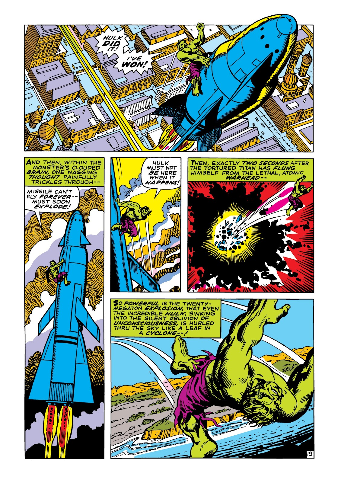 Read online Marvel Masterworks: The Incredible Hulk comic -  Issue # TPB 5 (Part 2) - 51