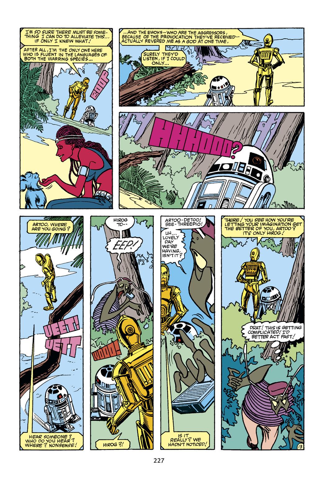 Read online Star Wars Omnibus comic -  Issue # Vol. 21 - 218