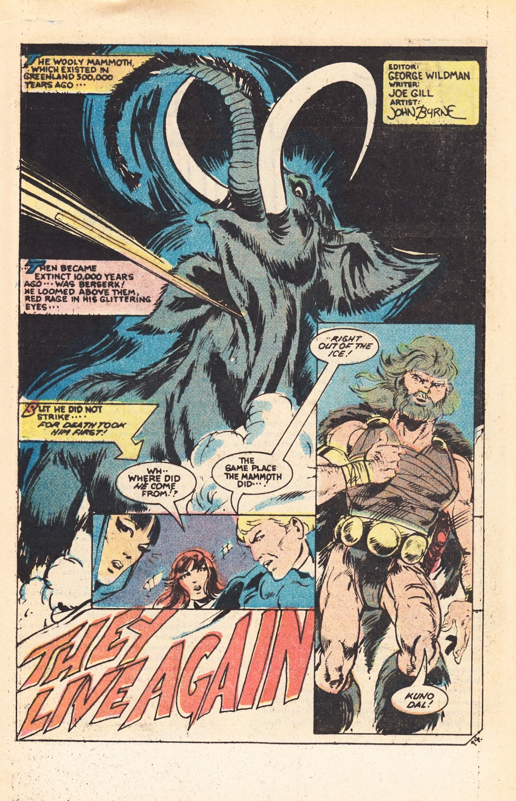 Read online Doomsday   1 (1975) comic -  Issue #7 - 20