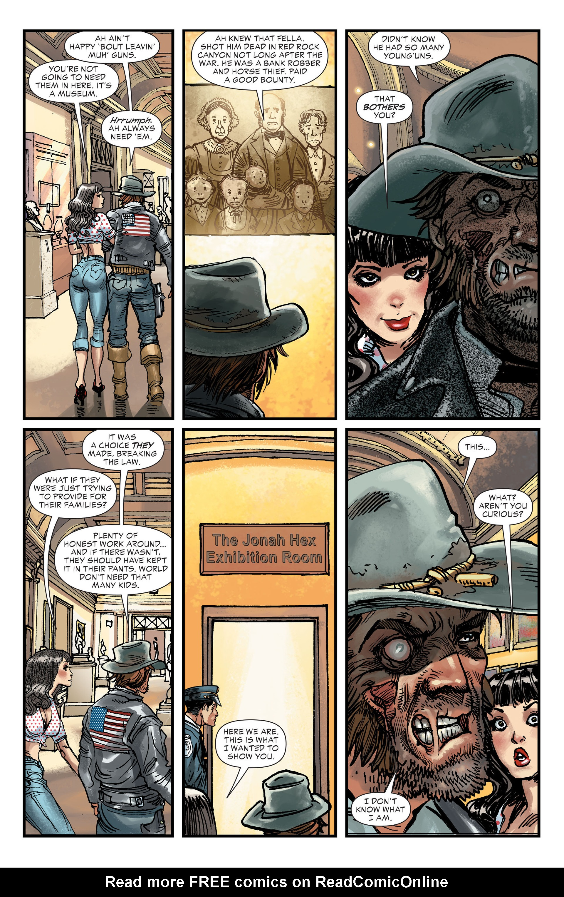 Read online All-Star Western (2011) comic -  Issue #27 - 11