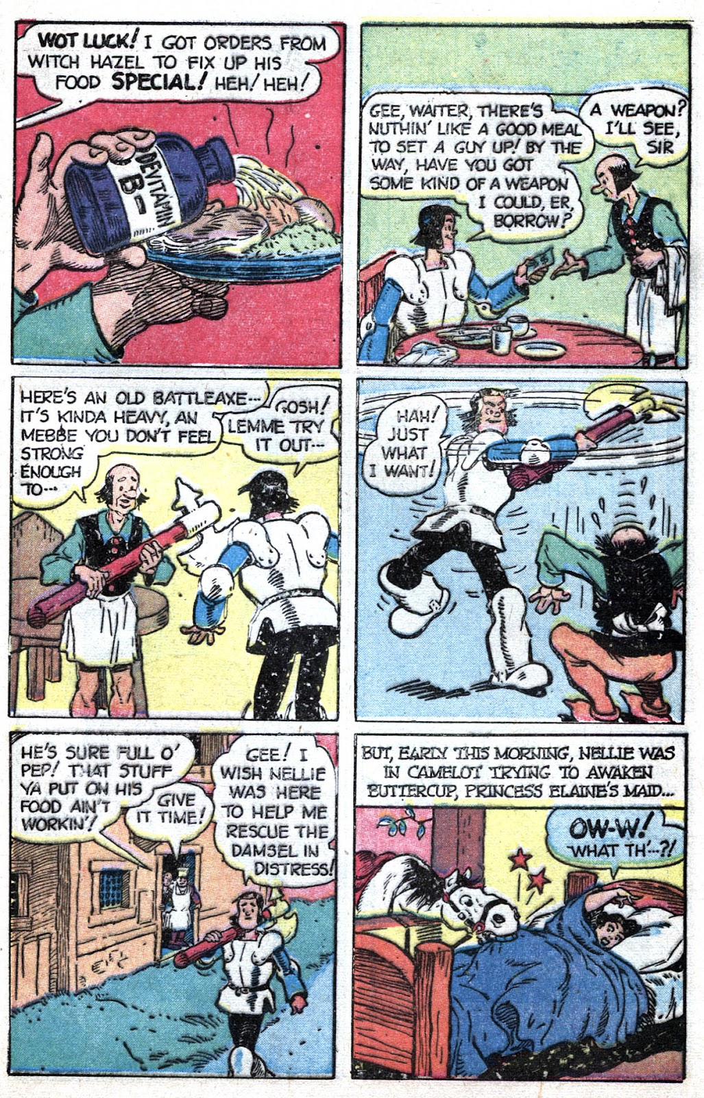 Read online Famous Funnies comic -  Issue #164 - 45