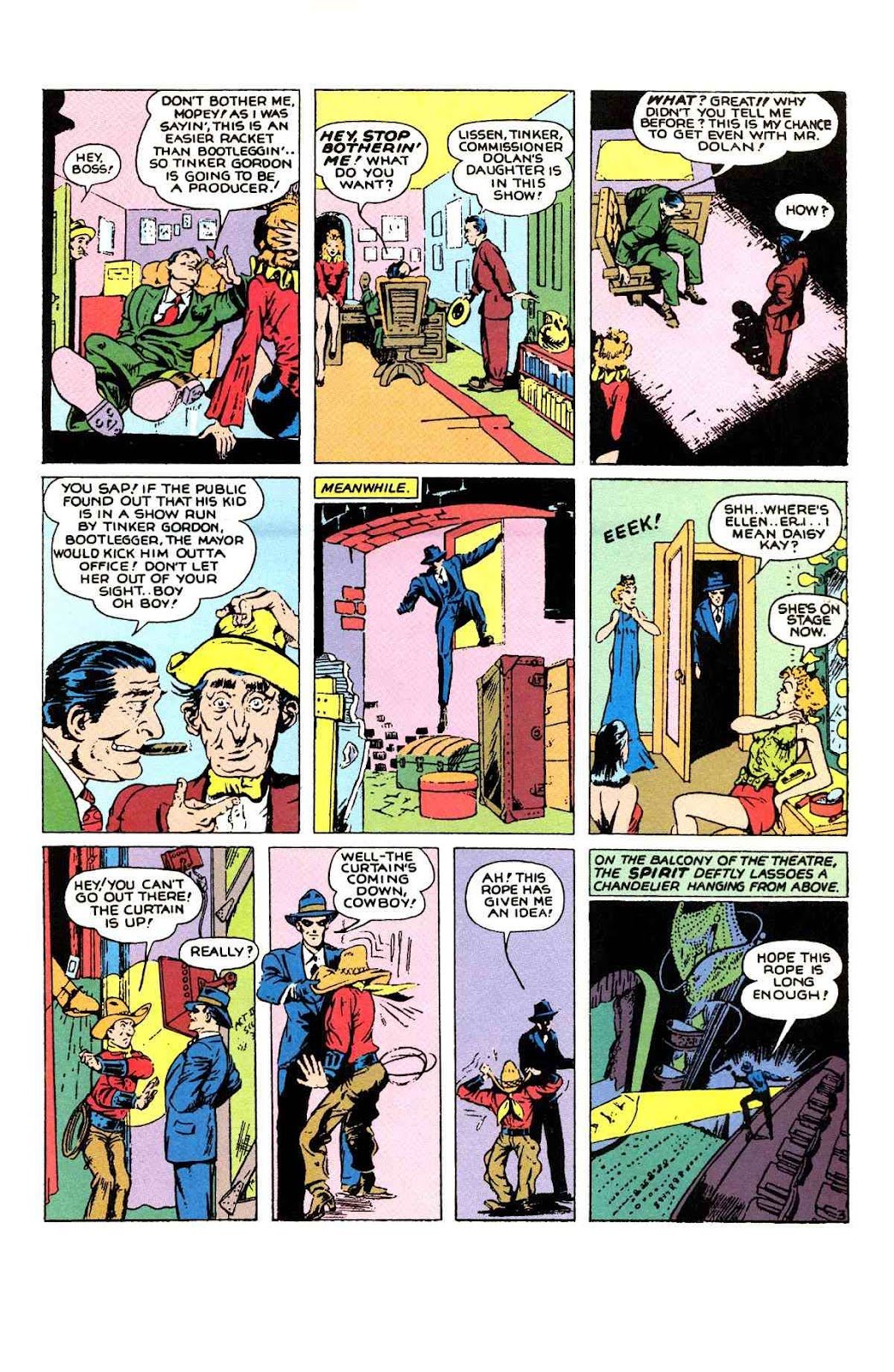 Read online Will Eisner's The Spirit Archives comic -  Issue # TPB 1 (Part 1) - 74