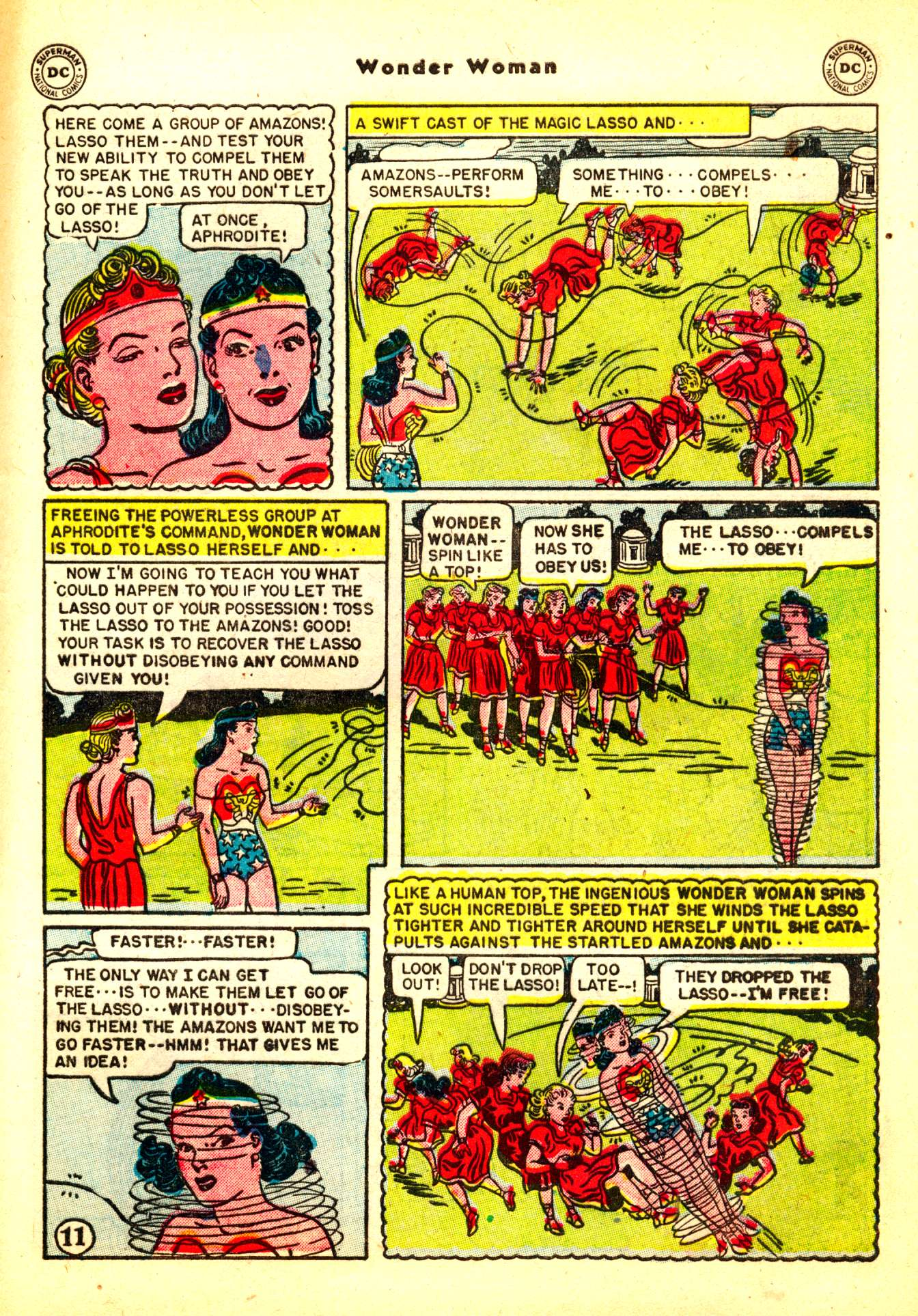 Read online Wonder Woman (1942) comic -  Issue #50 - 41