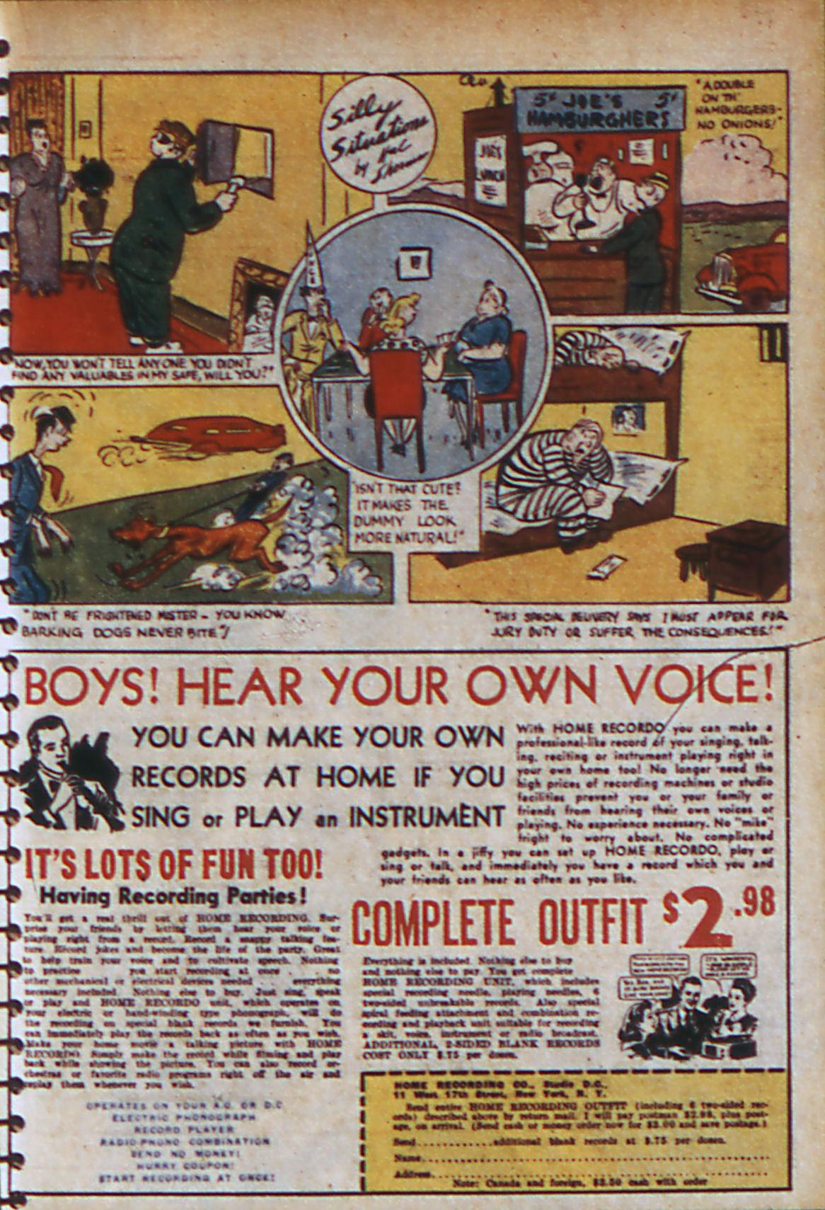 Read online Adventure Comics (1938) comic -  Issue #56 - 56
