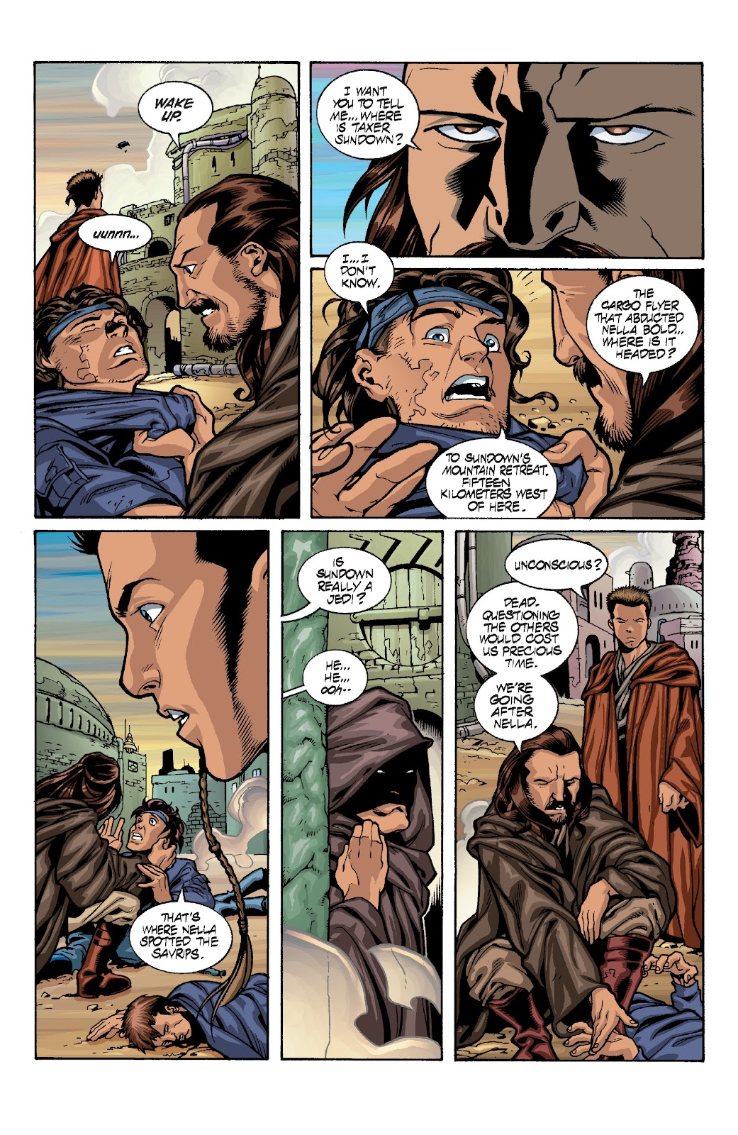Read online Star Wars Legends: Rise of the Sith - Epic Collection comic -  Issue # TPB 1 (Part 4) - 15