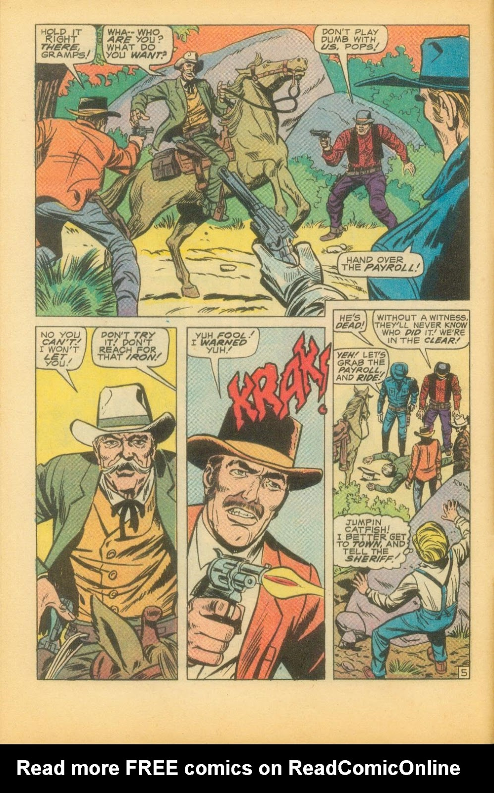 The Rawhide Kid (1955) issue 73 - Page 9