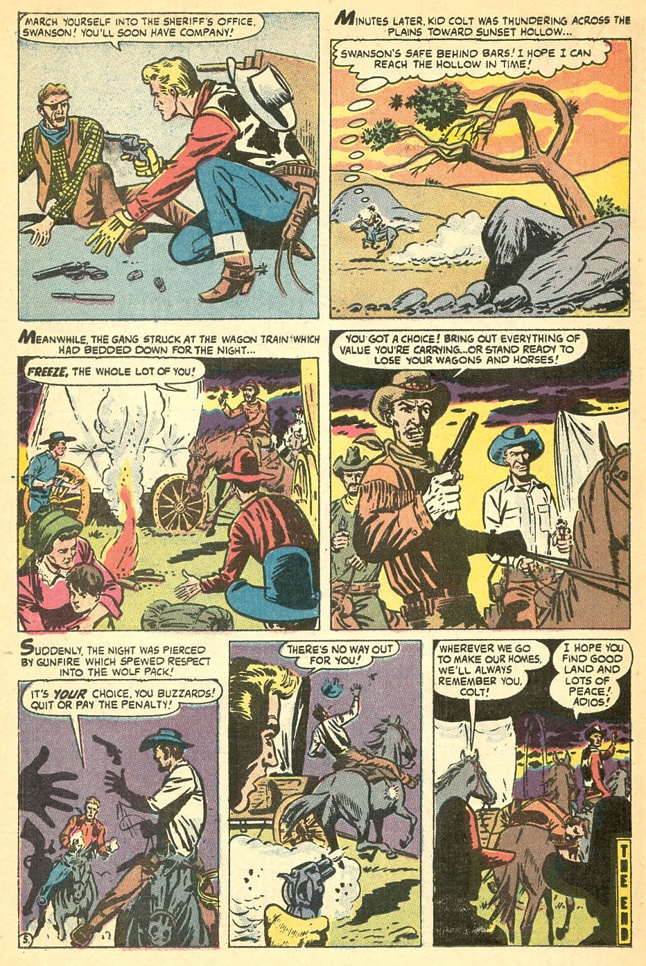 Kid Colt Outlaw issue 140 - Page 22