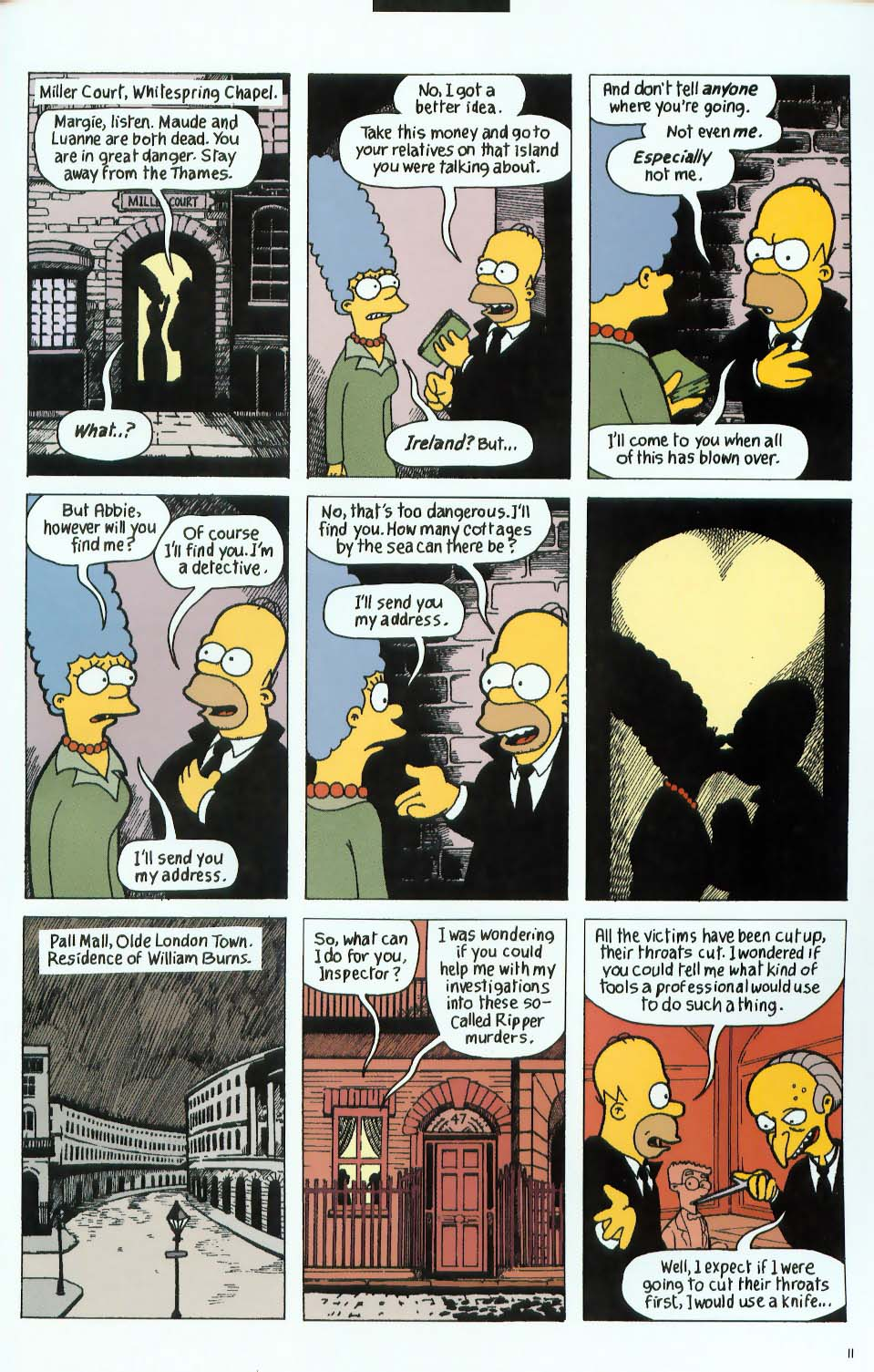Read online Treehouse of Horror comic -  Issue #9 - 43