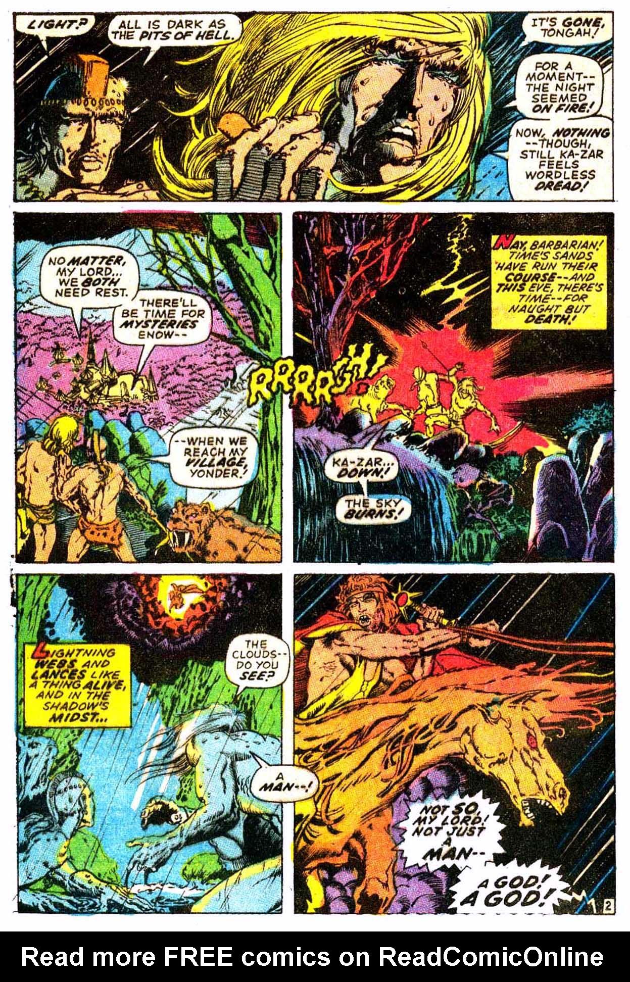 Read online Astonishing Tales (1970) comic -  Issue #6 - 13