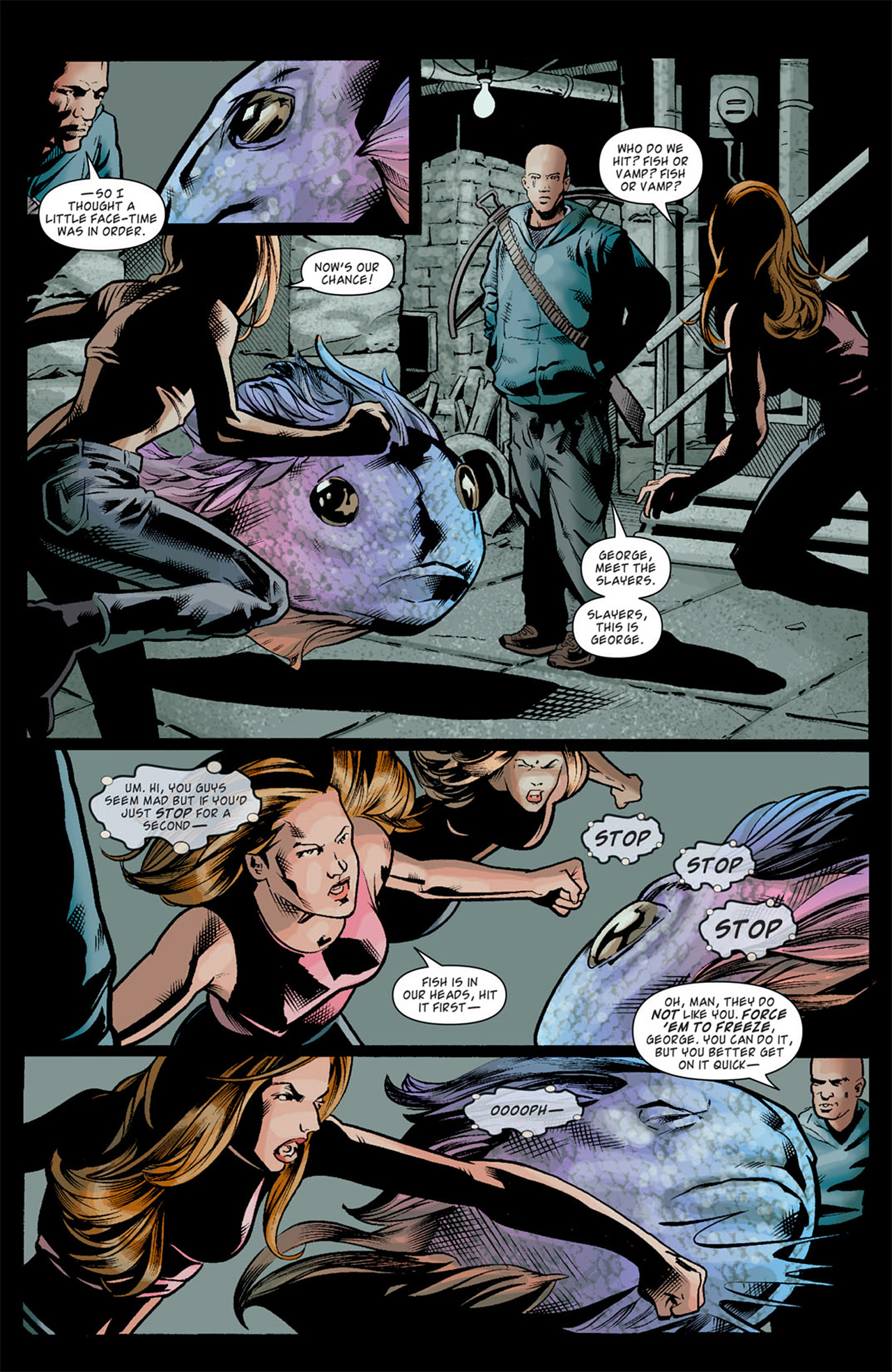 Read online Angel: After The Fall comic -  Issue #10 - 11