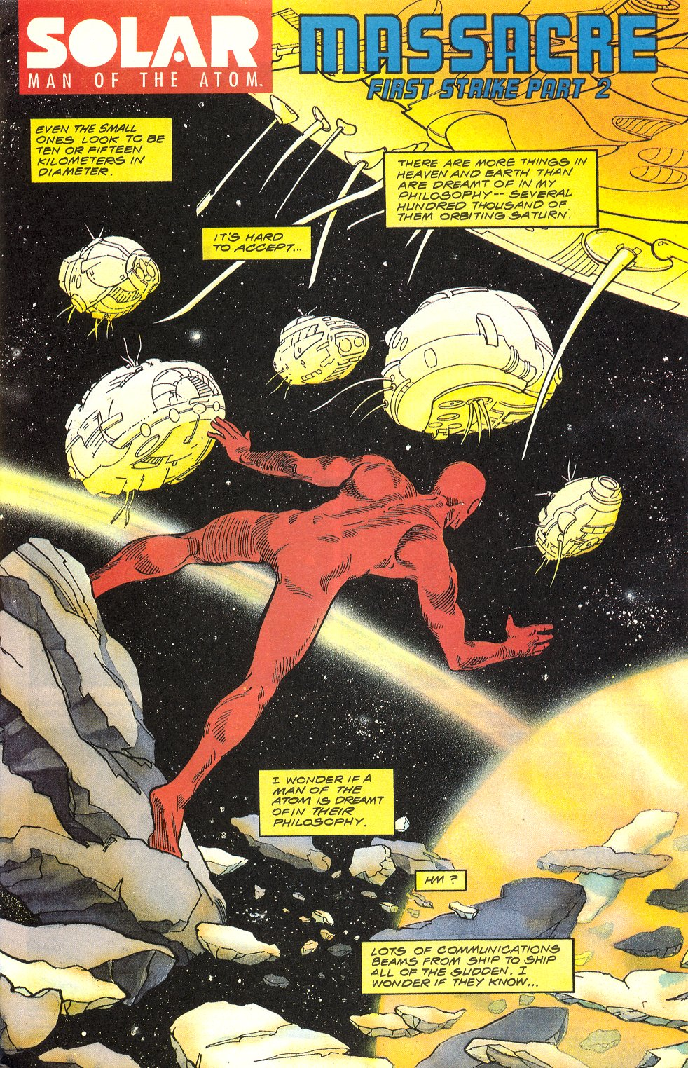 Read online Solar, Man of the Atom comic -  Issue #6 - 2