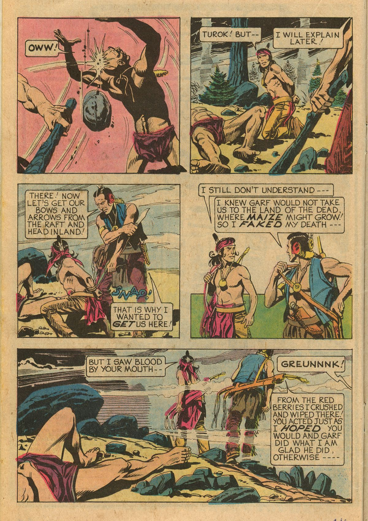 Read online Turok, Son of Stone comic -  Issue #111 - 16