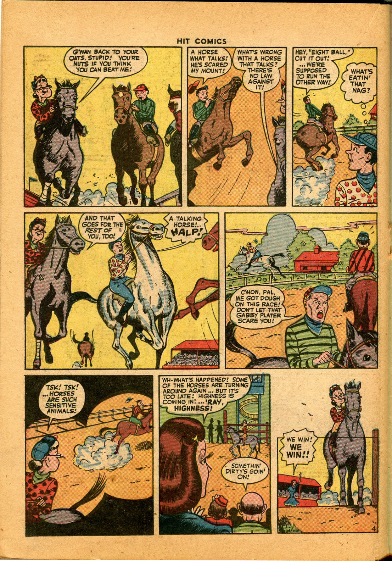 Read online Hit Comics comic -  Issue #35 - 28