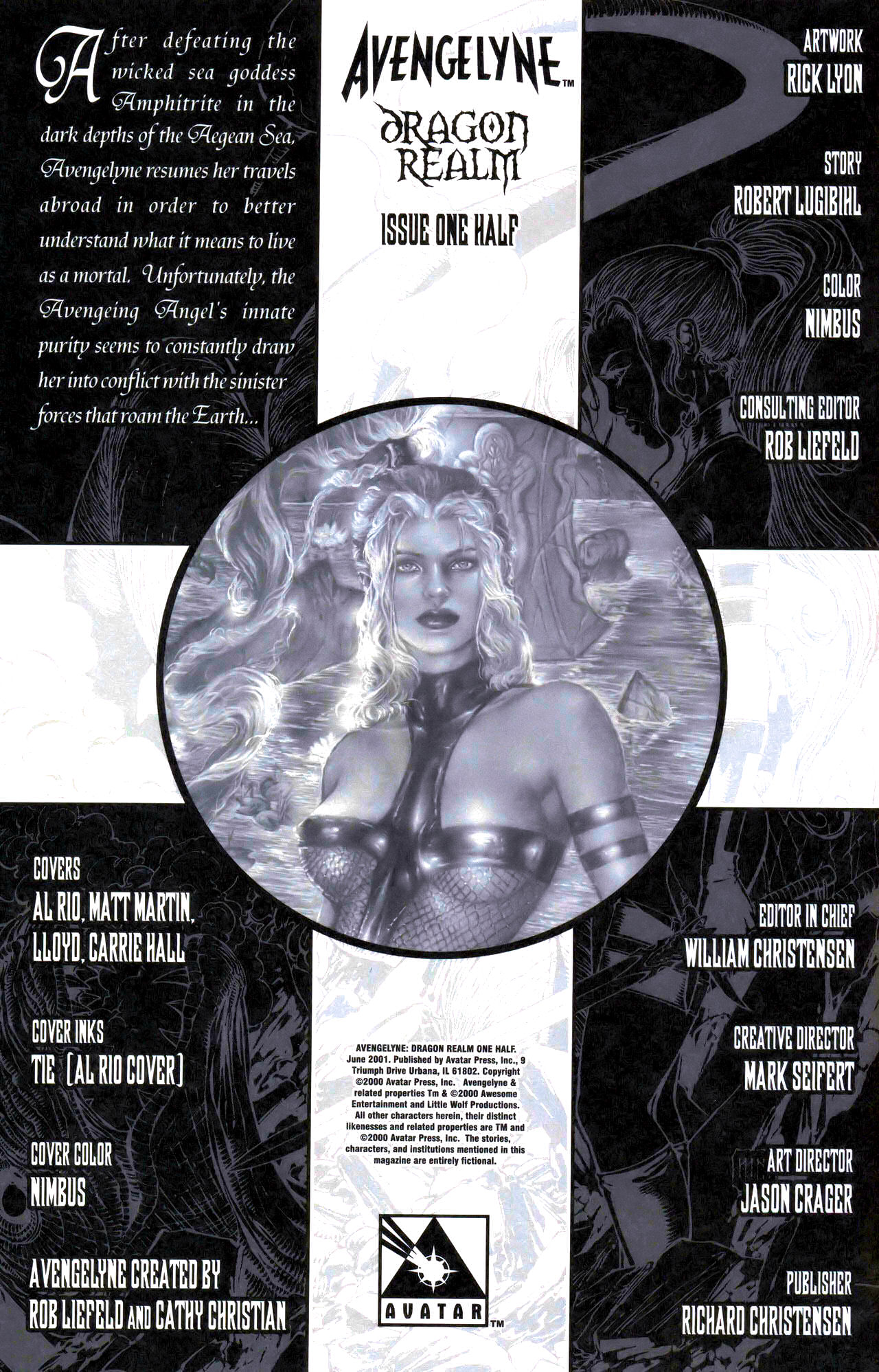 Read online Avengelyne: Dragon Realm comic -  Issue #0.5 - 7