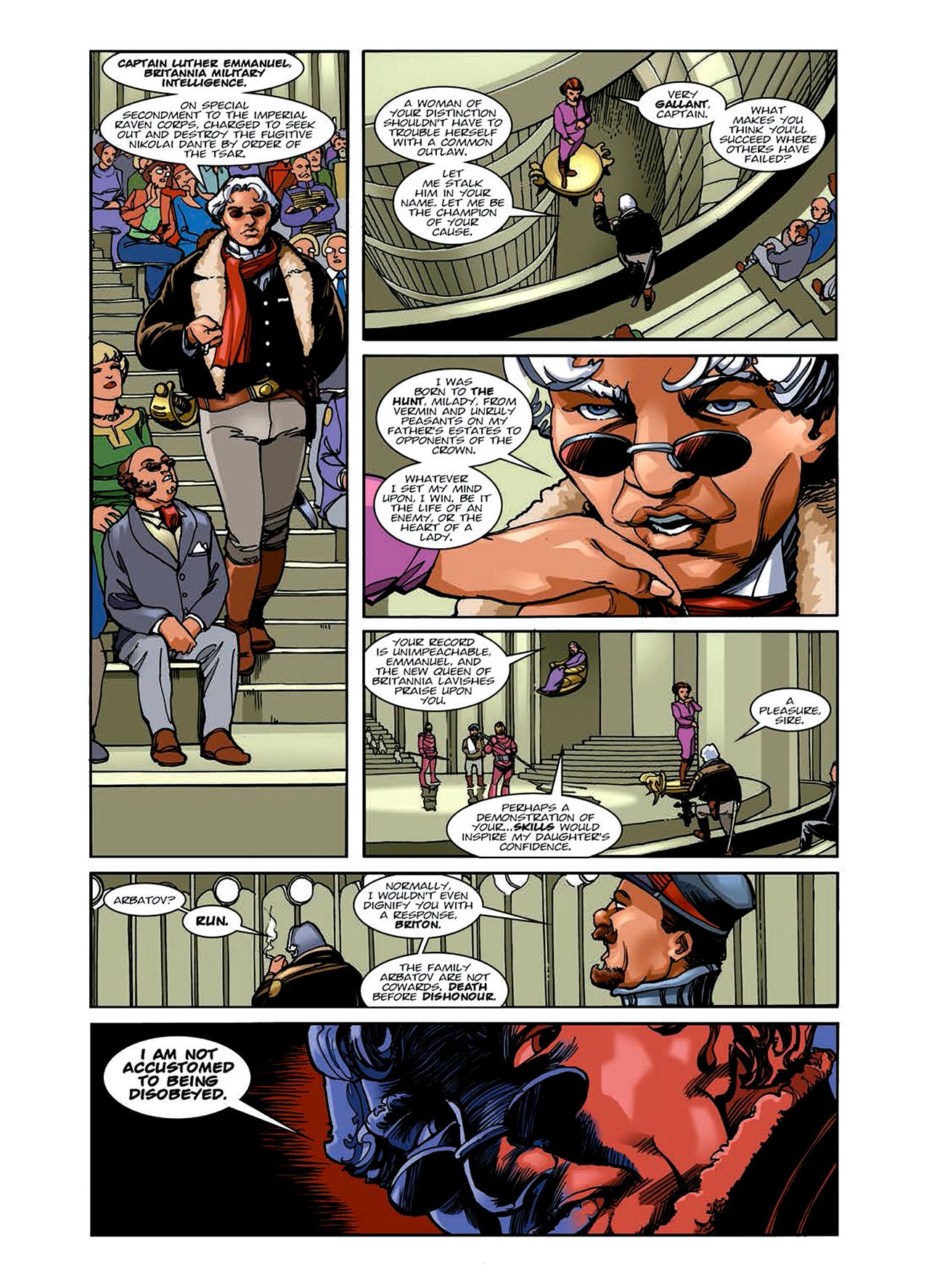Read online Nikolai Dante comic -  Issue # TPB 6 - 39