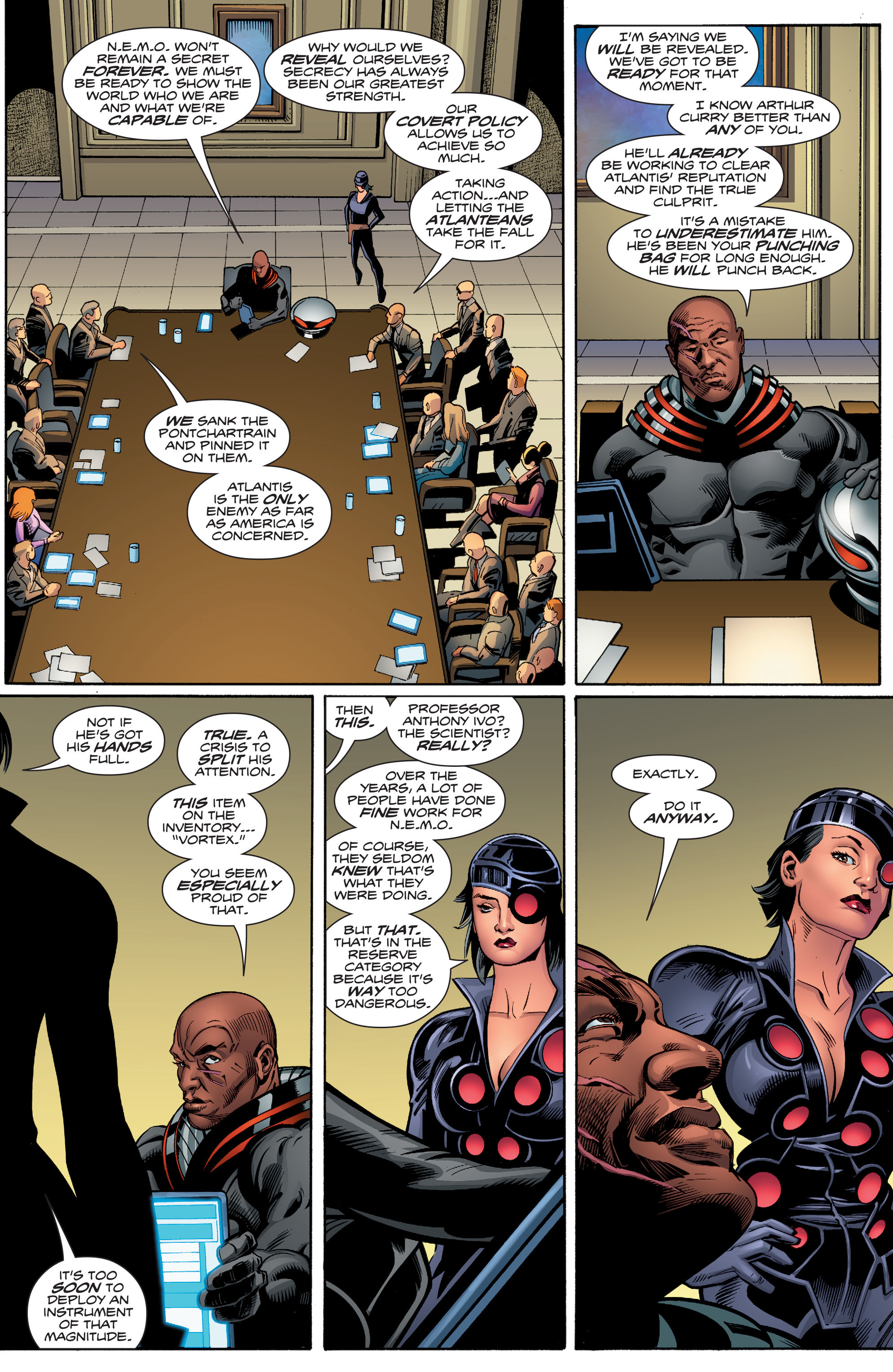 Read online Aquaman (2016) comic -  Issue #7 - 18