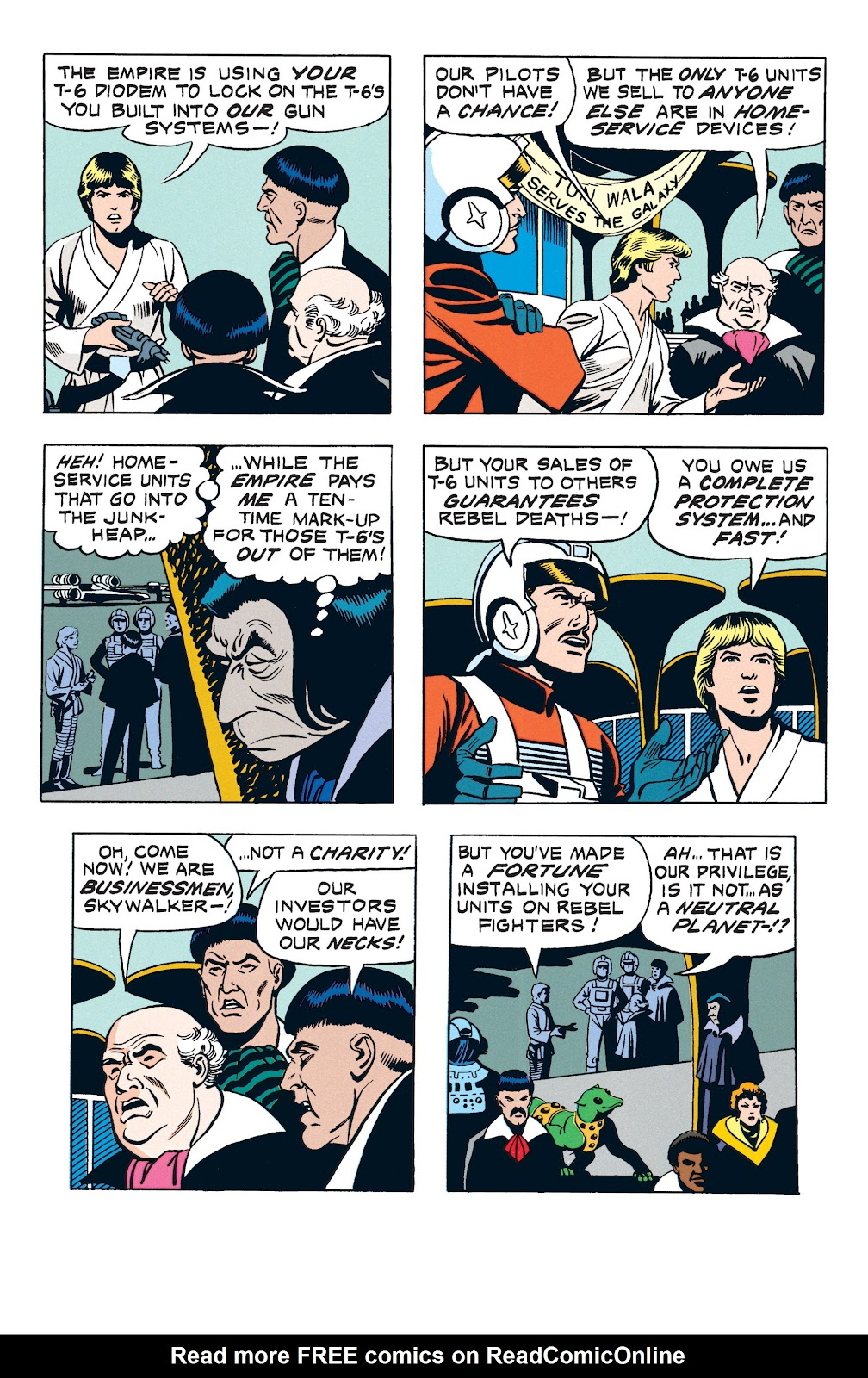 Read online Star Wars Legends: The Newspaper Strips - Epic Collection comic -  Issue # TPB (Part 3) - 32