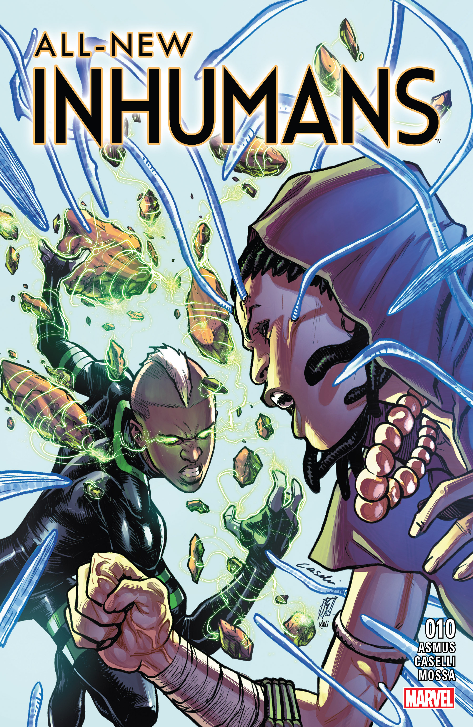 All-New Inhumans 10 Page 1