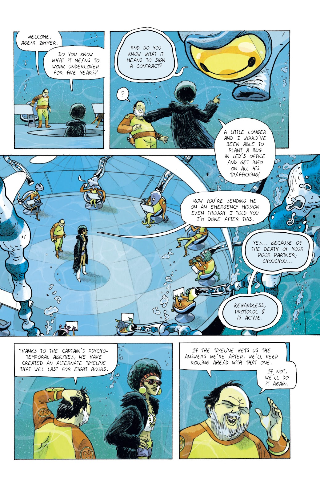 Read online Infinity 8 comic -  Issue #10 - 12