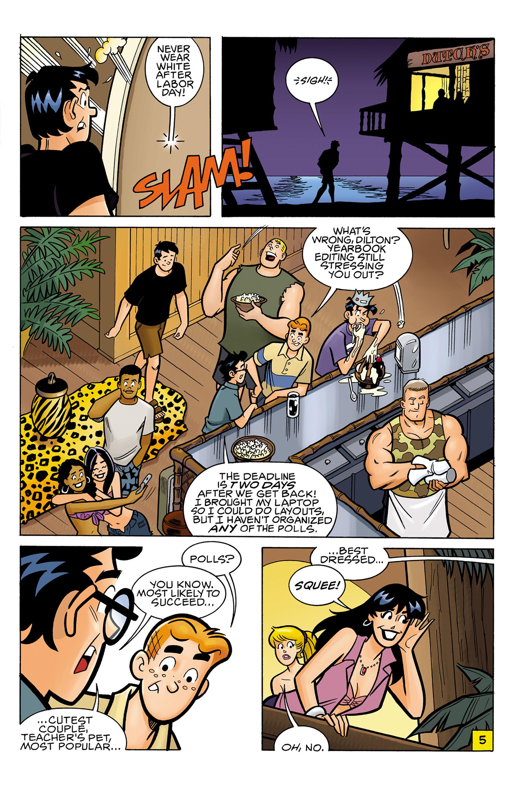 Read online Archie vs. Predator comic -  Issue #1 - 6