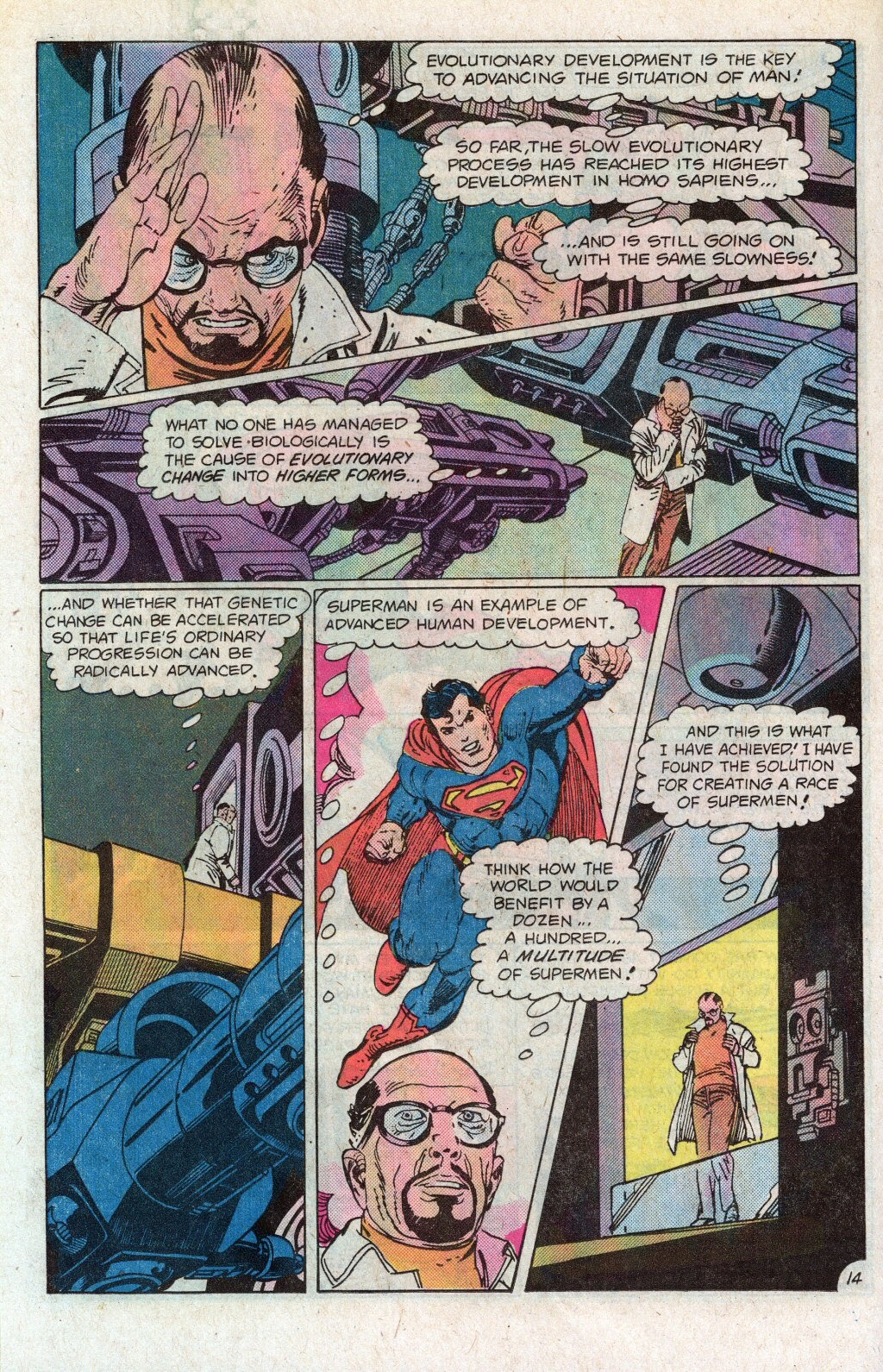 Read online Superman Special (1983) comic -  Issue #1 - 18