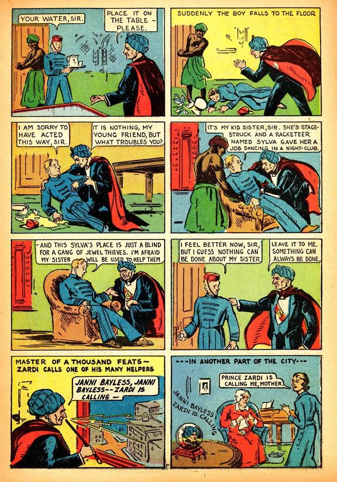 Read online Amazing Man Comics comic -  Issue #12 - 27