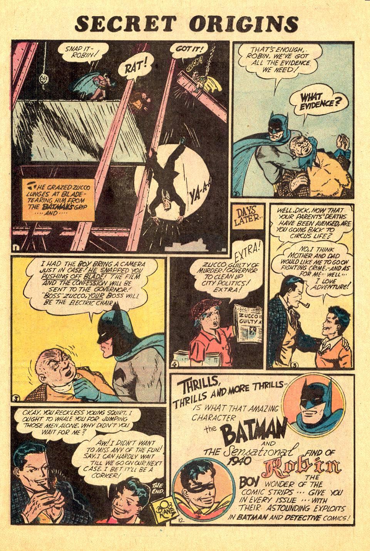 Read online Secret Origins (1973) comic -  Issue #7 - 16