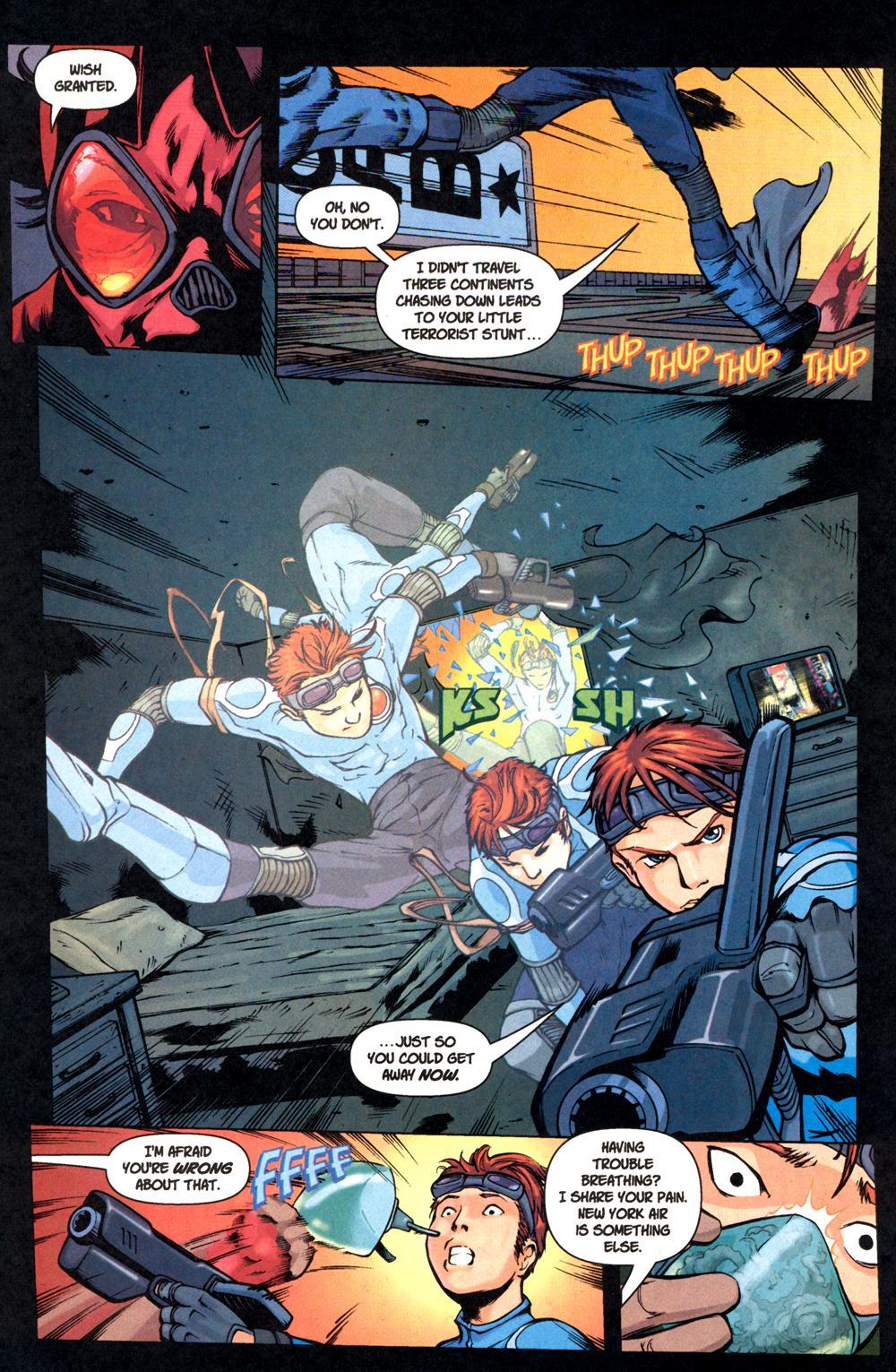Read online SpyBoy: Final Exam comic -  Issue #1 - 7