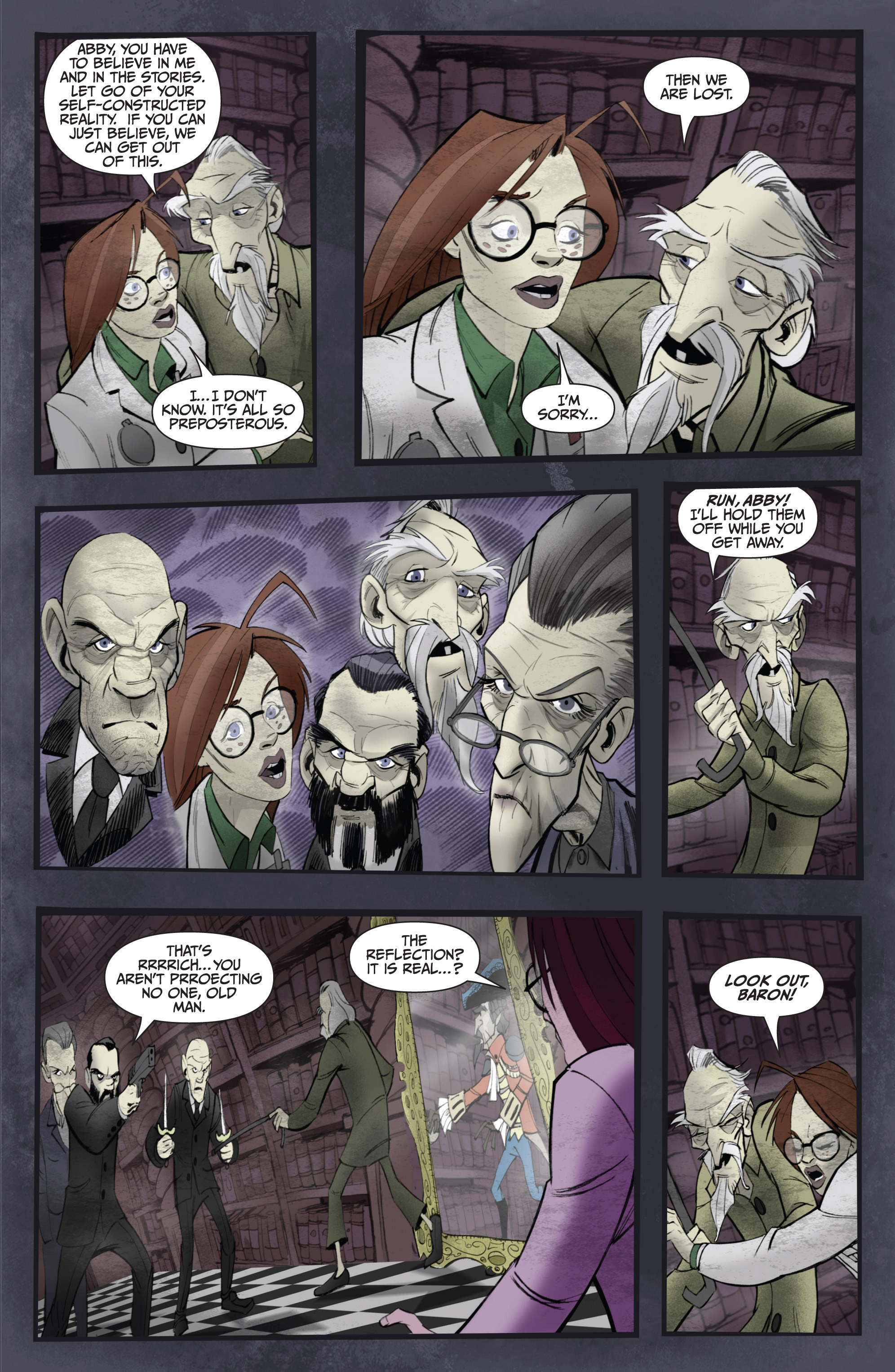 Read online Legendary Talespinners comic -  Issue #1 - 24