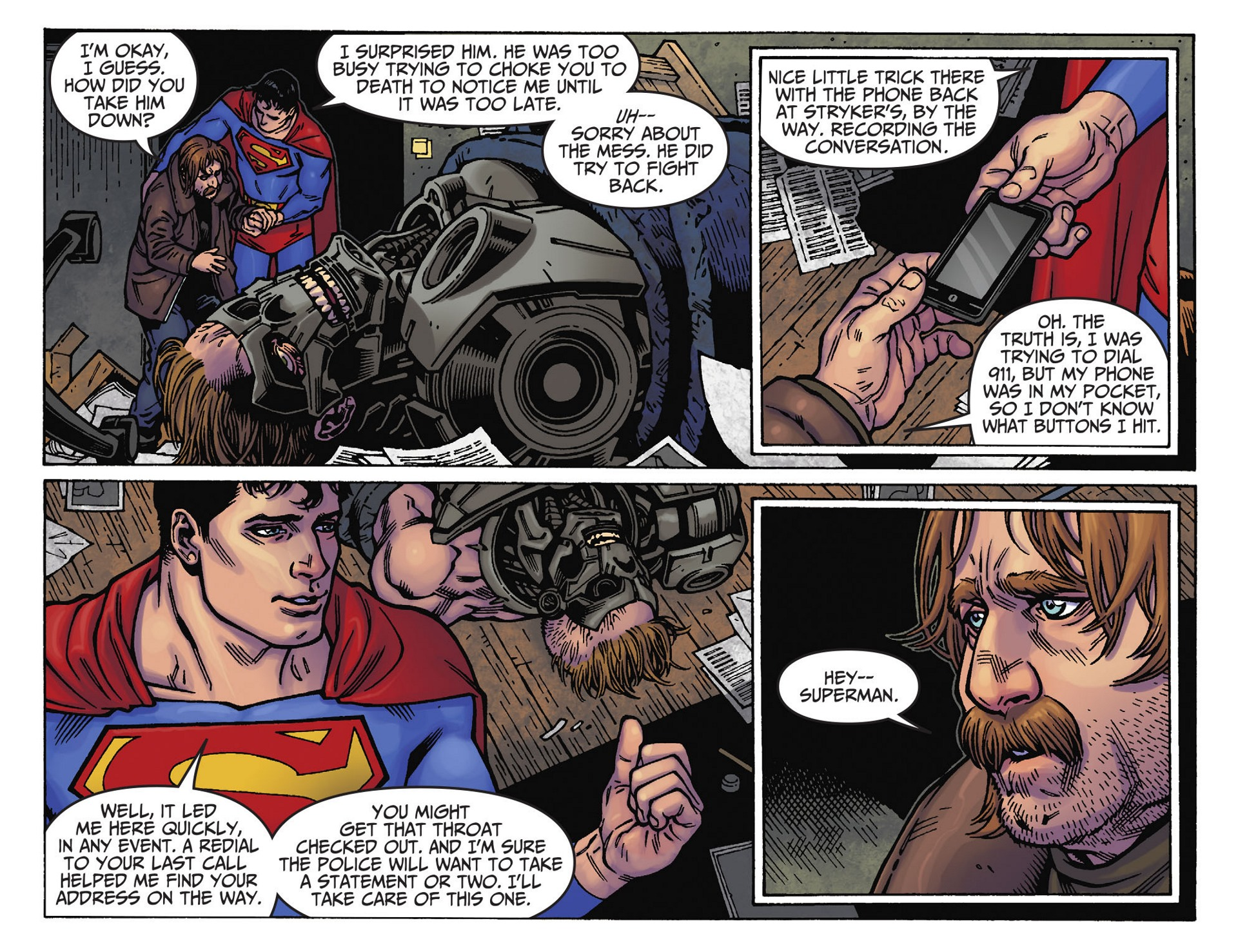 Read online Adventures of Superman [I] comic -  Issue #39 - 18